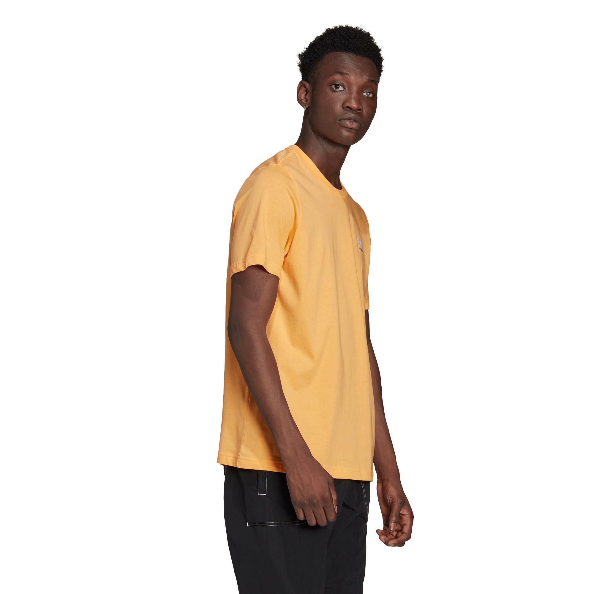 T-shirt loungewear adicolor trefoil essentials, Arancione, large image number 2