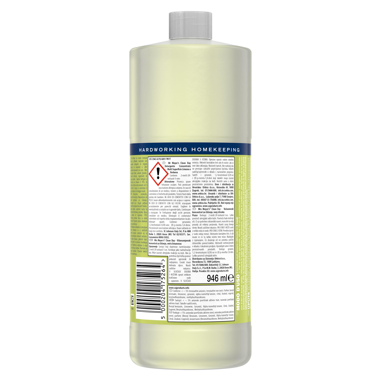 Detergente concentrato multi-supericie profumo di limone 946ml, Giallo scuro, large image number 1
