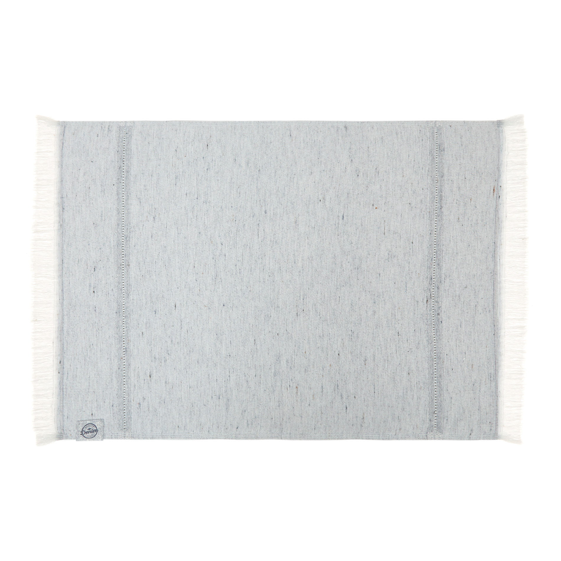 Asciugamano cotone e denim riciclato, Denim, large image number 1
