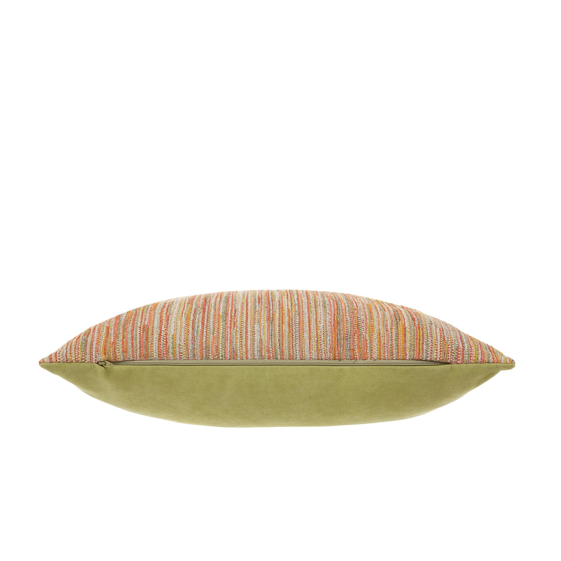 Cuscino jacquard motivo fili 45x45cm, Multicolor, large image number 1