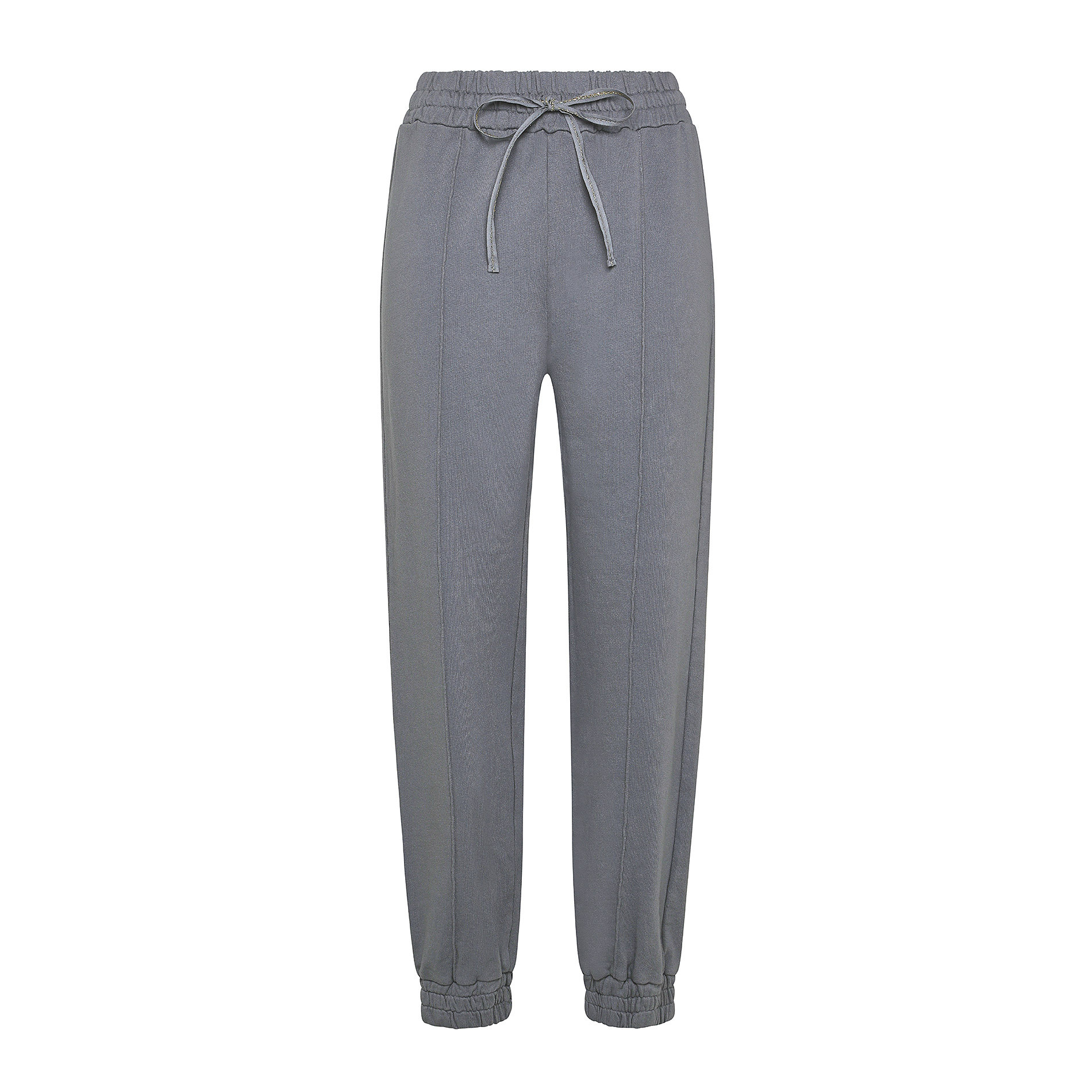Pantalone felpa cotone biologico Koan, Grigio scuro, large image number 0