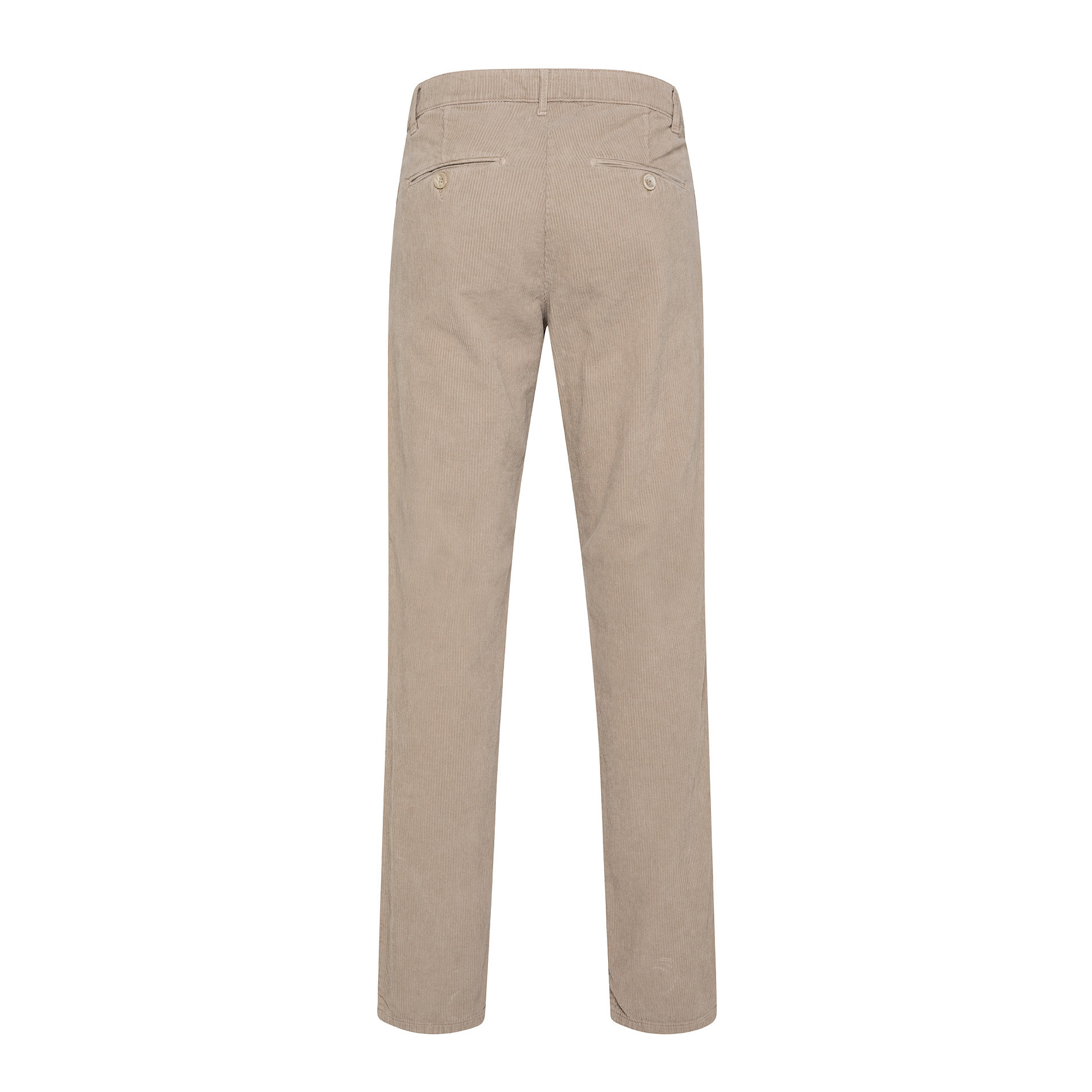 Pantaloni chino velluto stretch, Beige chiaro, large image number 1