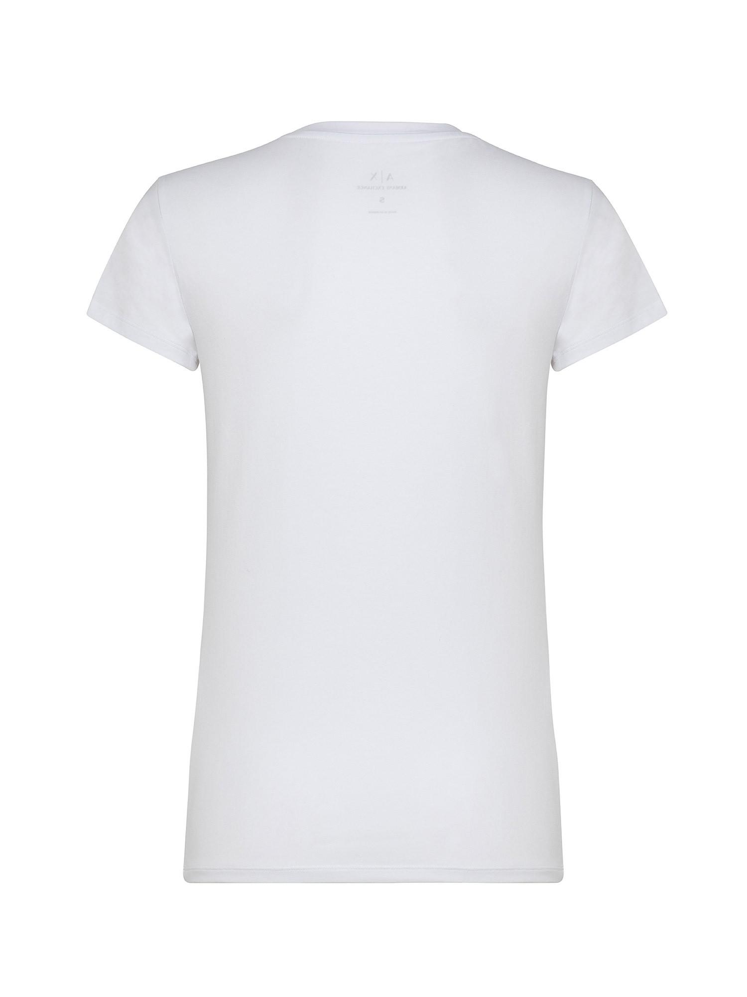 T-shirt slim fit, Bianco, large image number 1