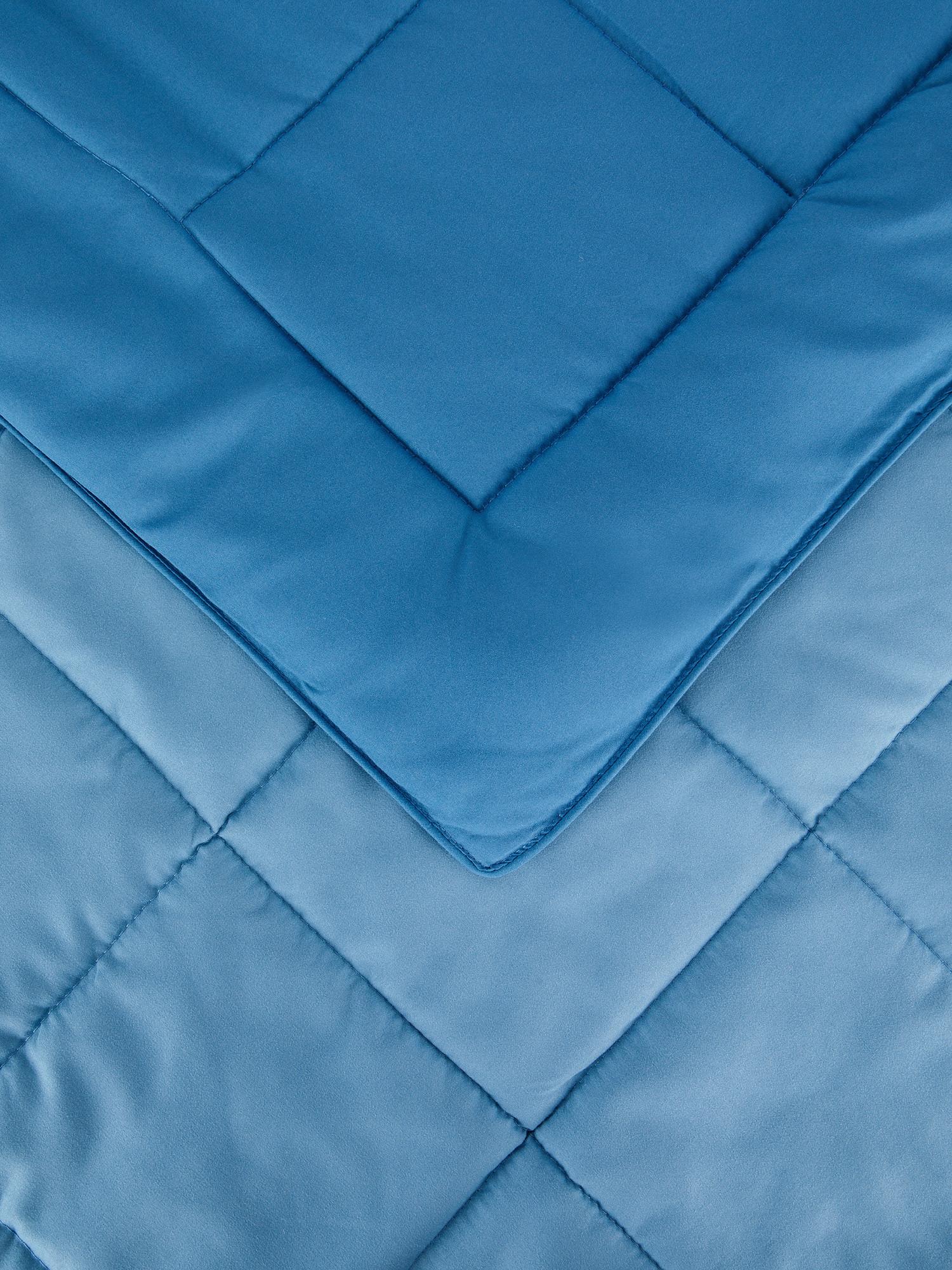 Trapunta microfibra aloe vera, Blu, large image number 2