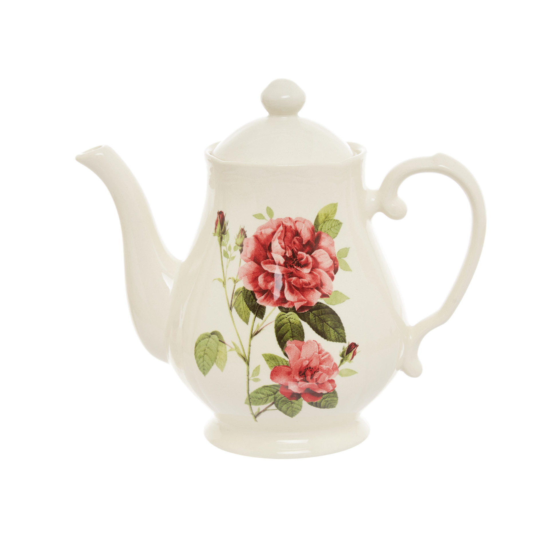 Teiera ceramica Rosemary, Bianco, large image number 0