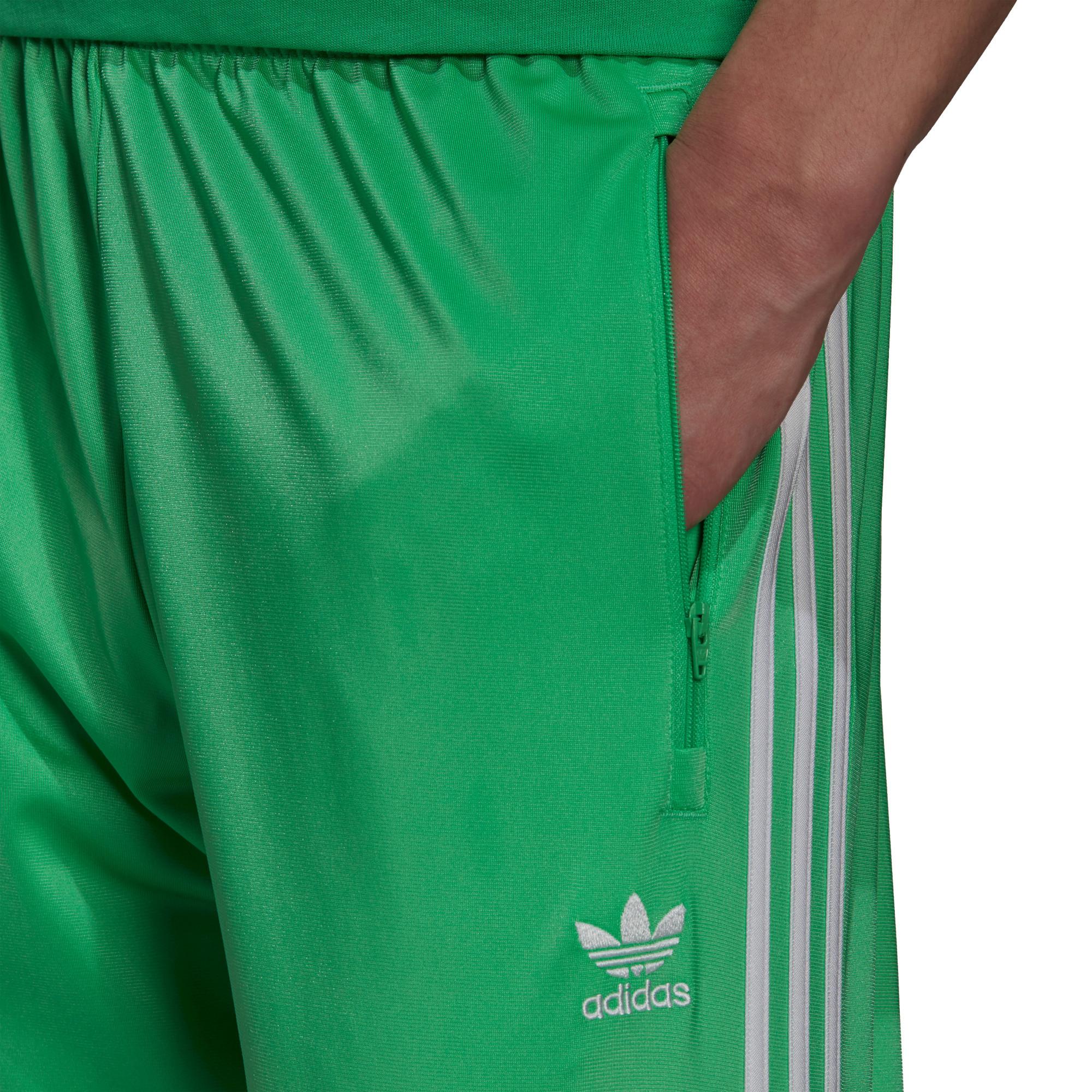 Pantaloni tuta uomo adicolor Classics Firebird Primeblue, Verde, large image number 3