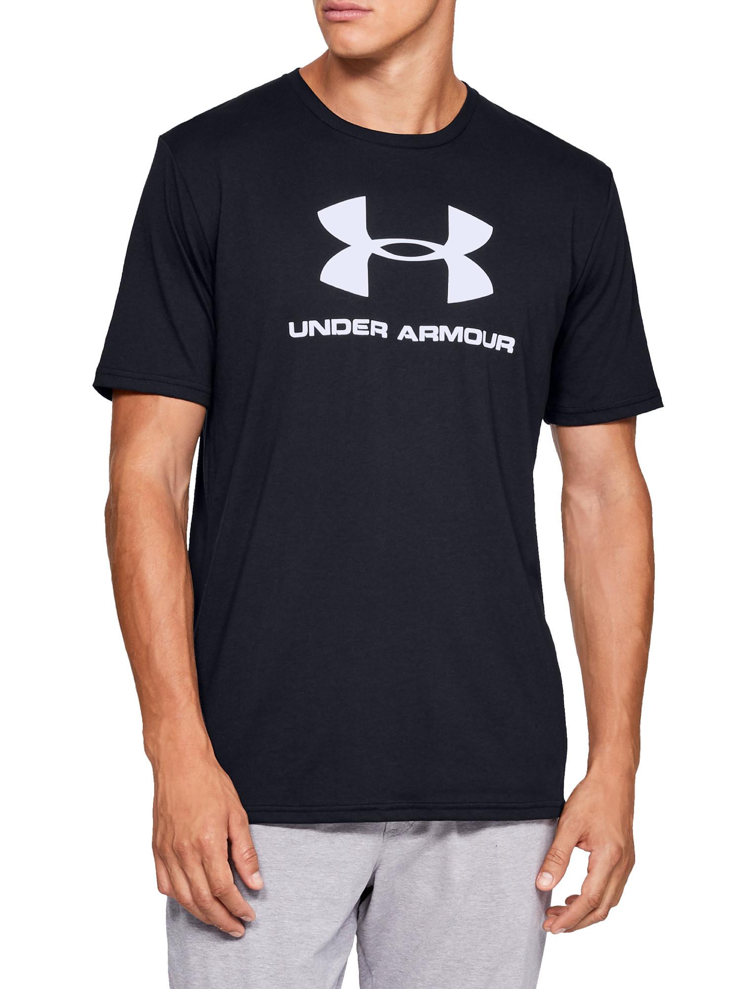 T-shirt uomo sportiva , Nero, large image number 3