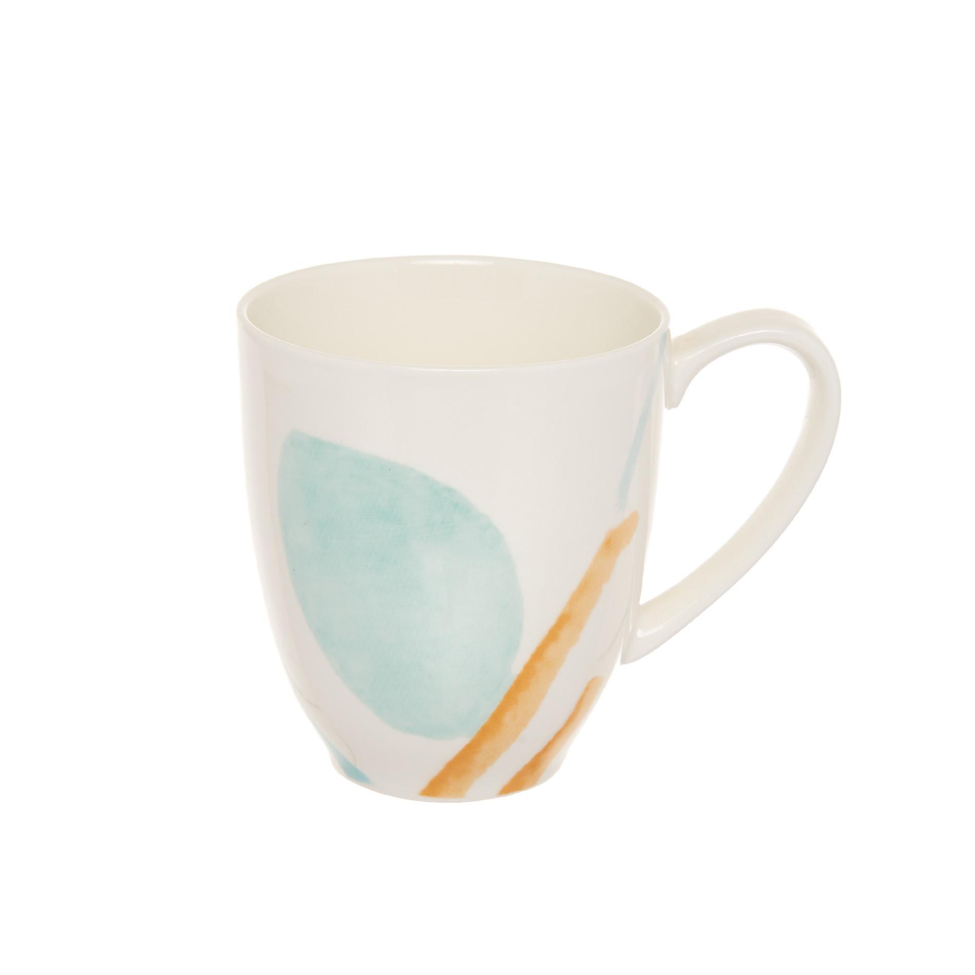 Mug new bone china Peggy, Bianco, large image number 0