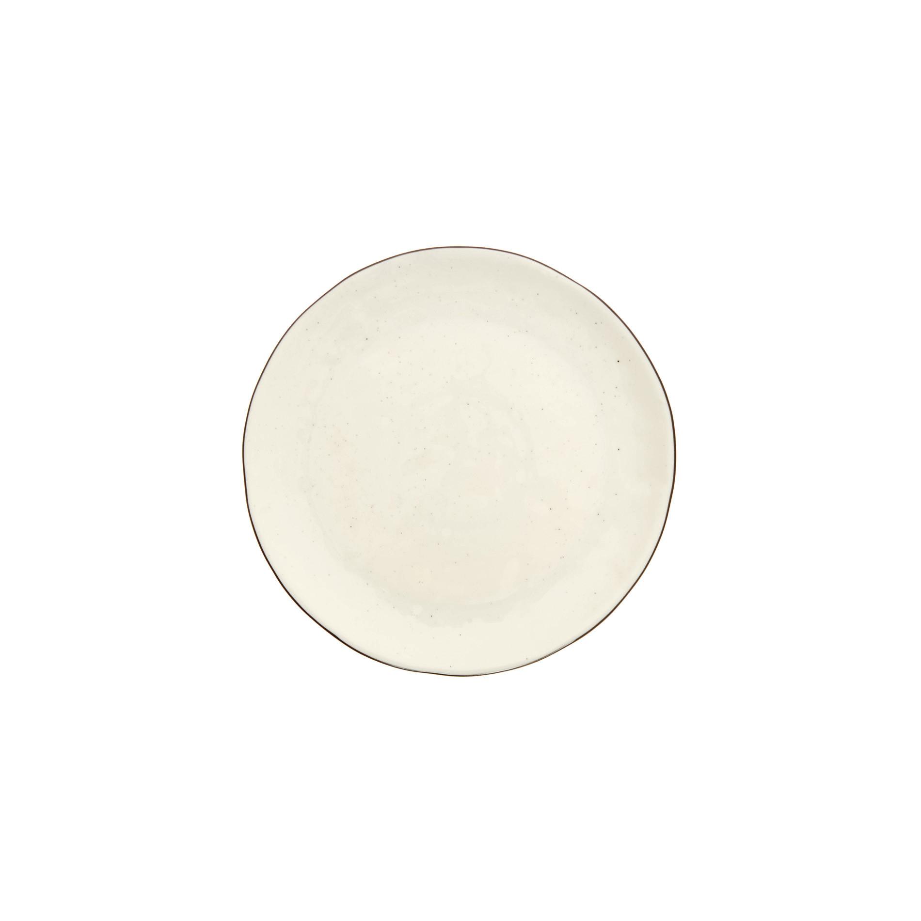 Piatto frutta porcellana Ginevra, Bianco, large image number 0