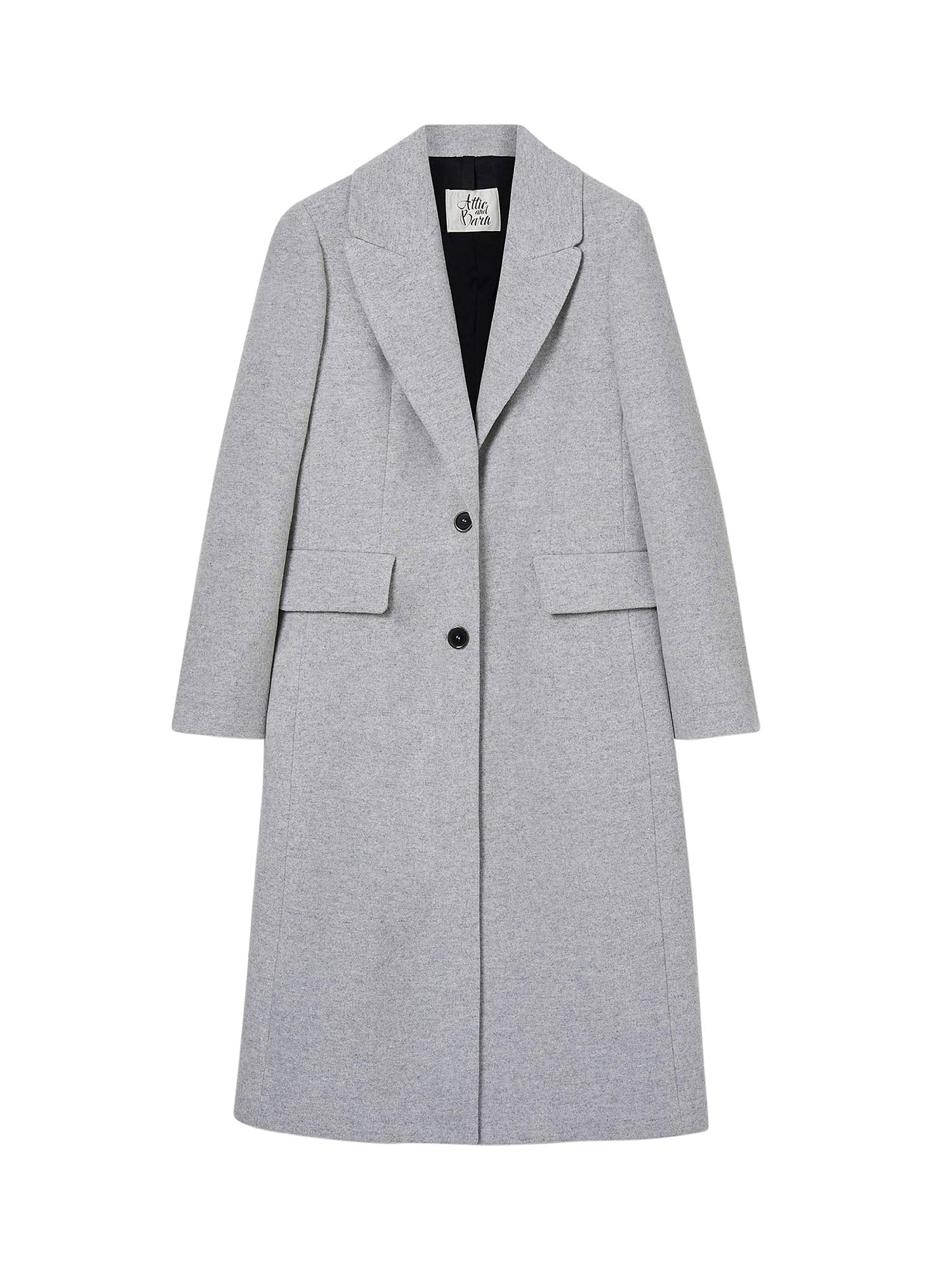 Cappotto, Grigio, large image number 0