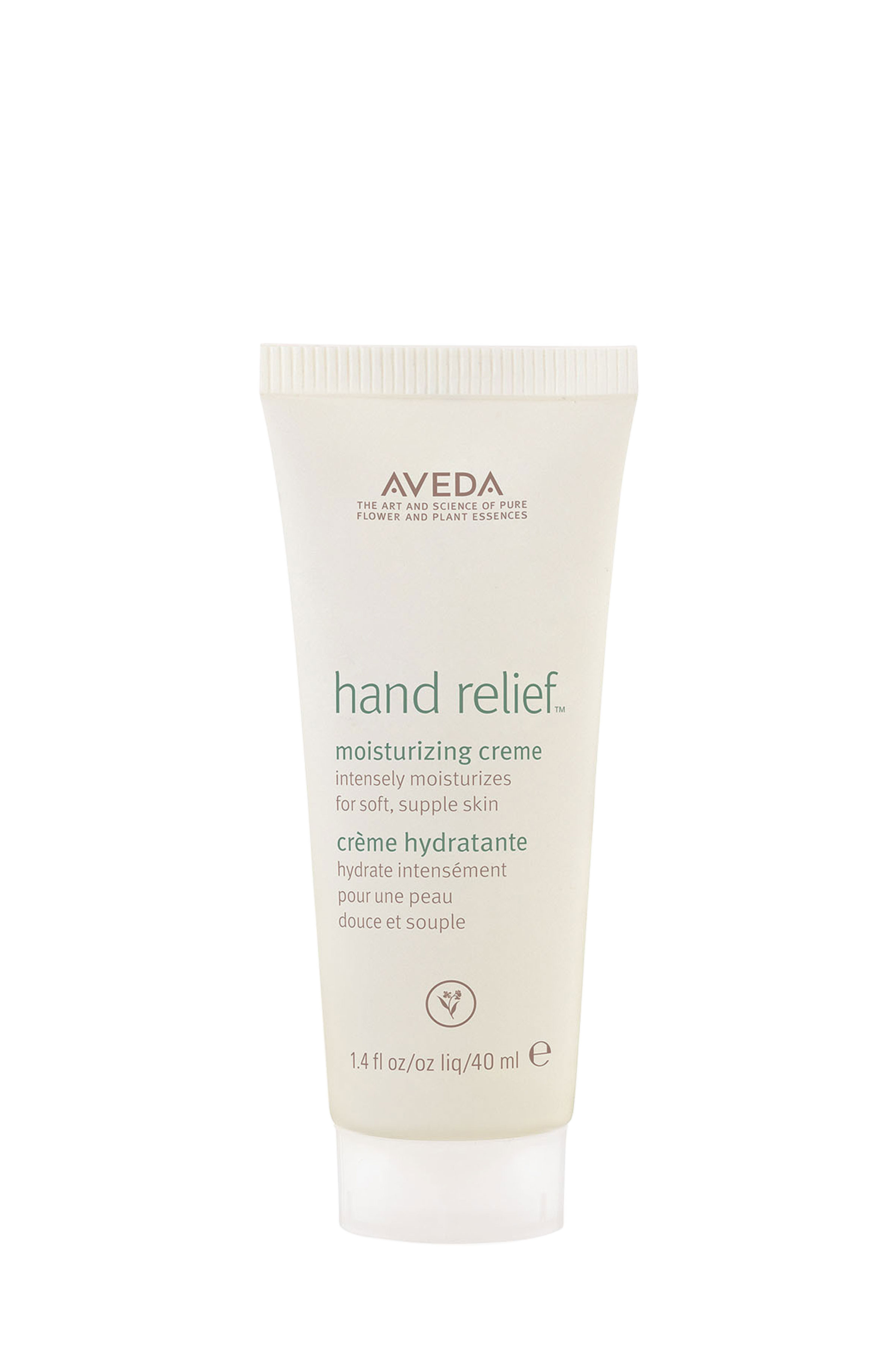 Aveda hand relief crema mani lenitiva 40 ml, Bianco, large image number 0