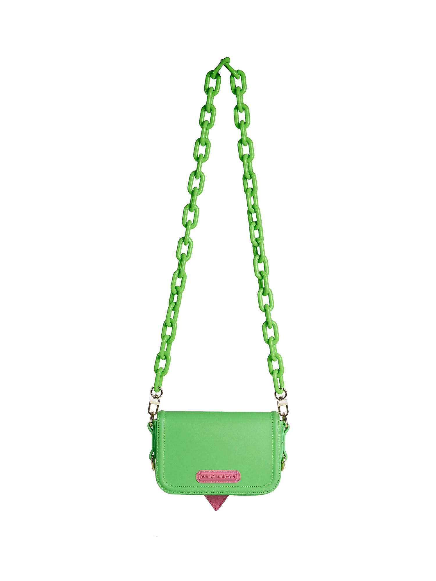 Small Eyelike Bag, Verde, large image number 1