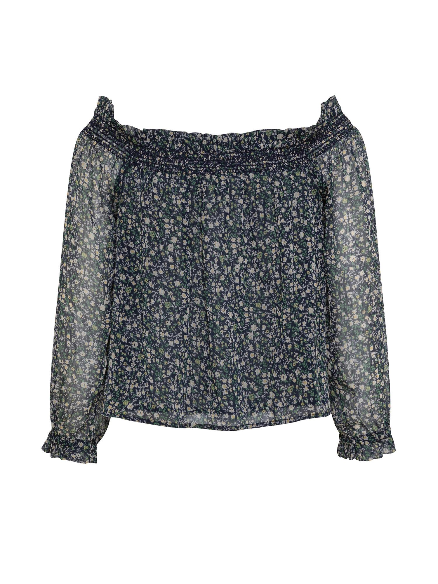 Blusa senza spalle Louise, Multicolor, large image number 1