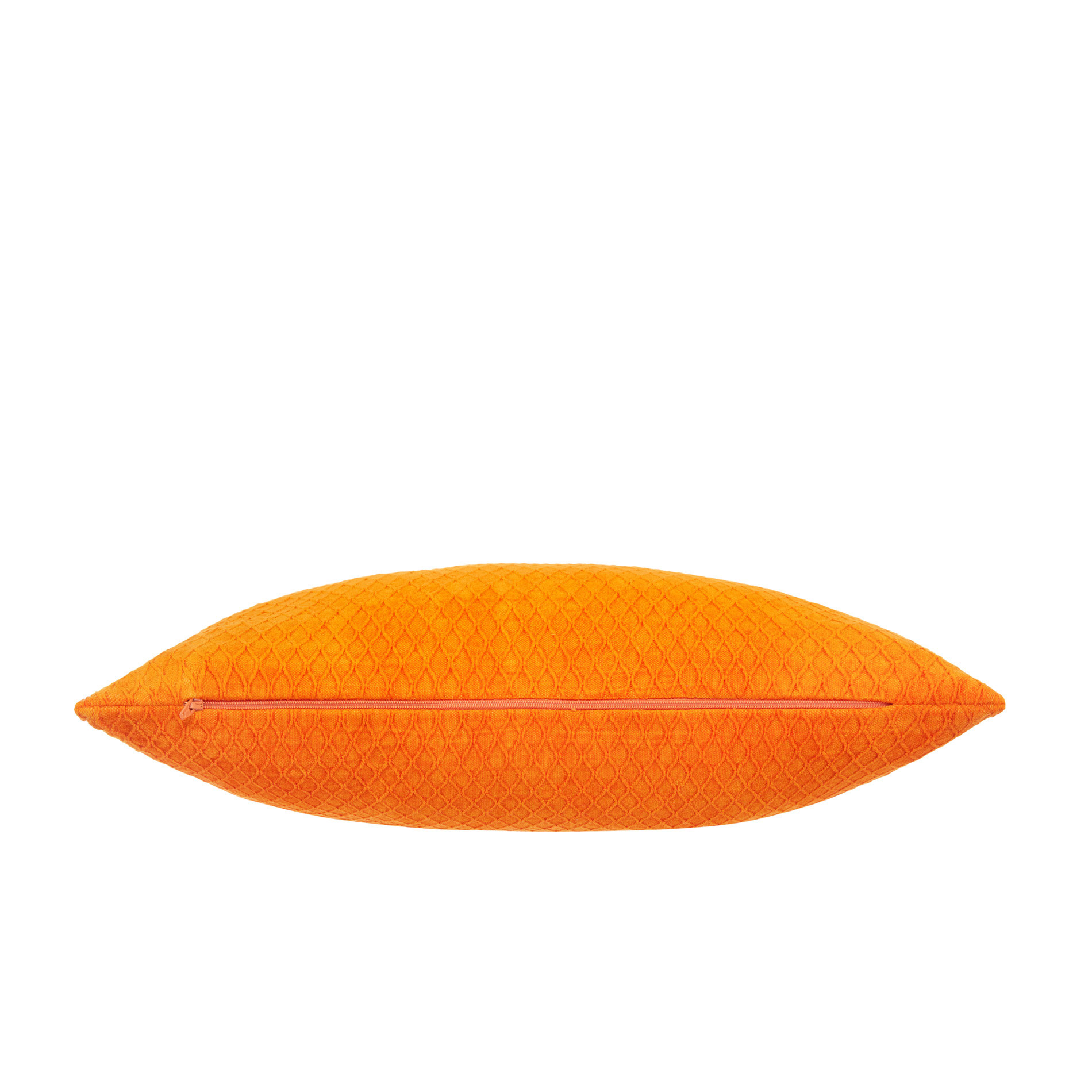 Cuscino velluto tinta unita 45x45cm, Arancione, large image number 1