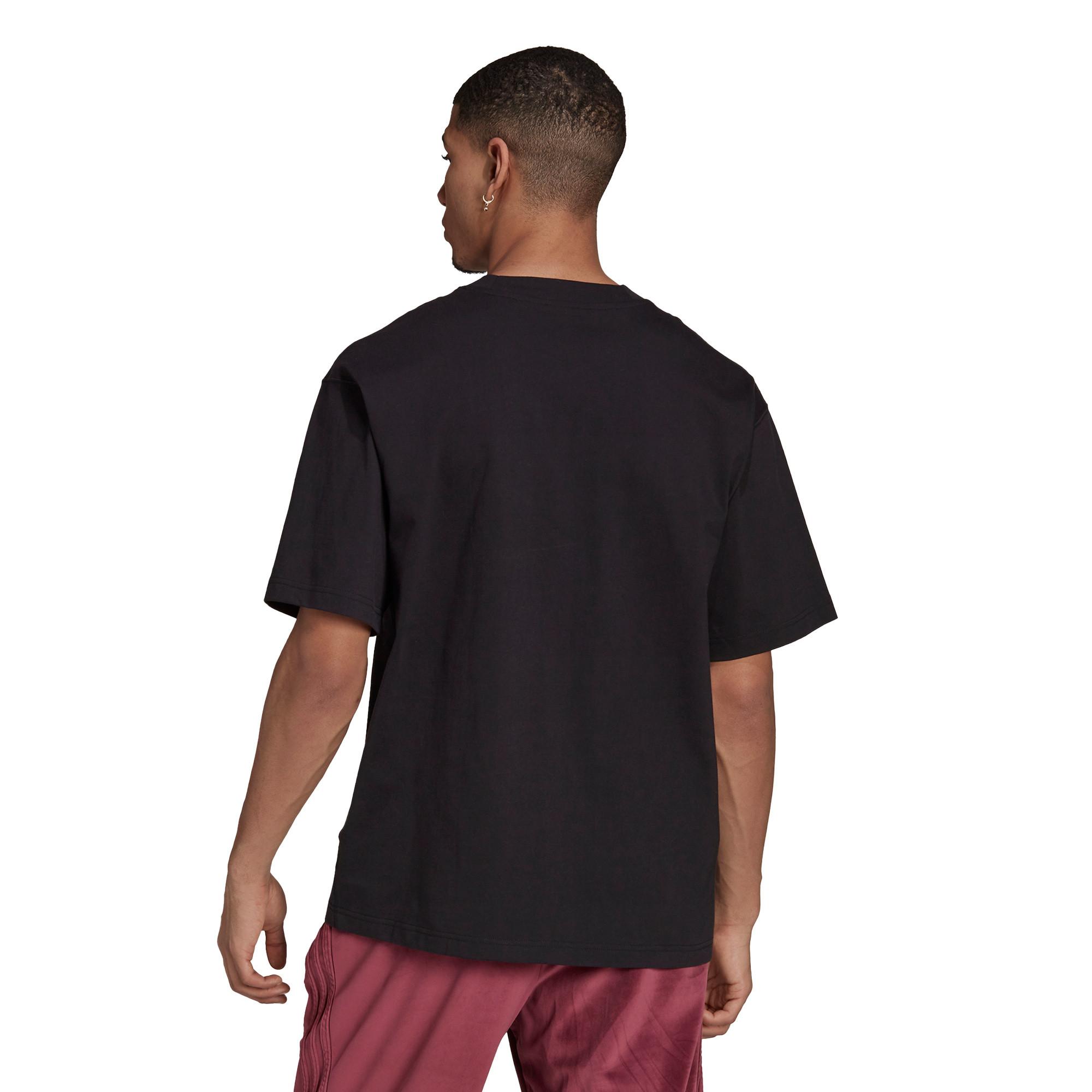 T-shirt uomo adicolor Trefoil, Nero, large image number 4