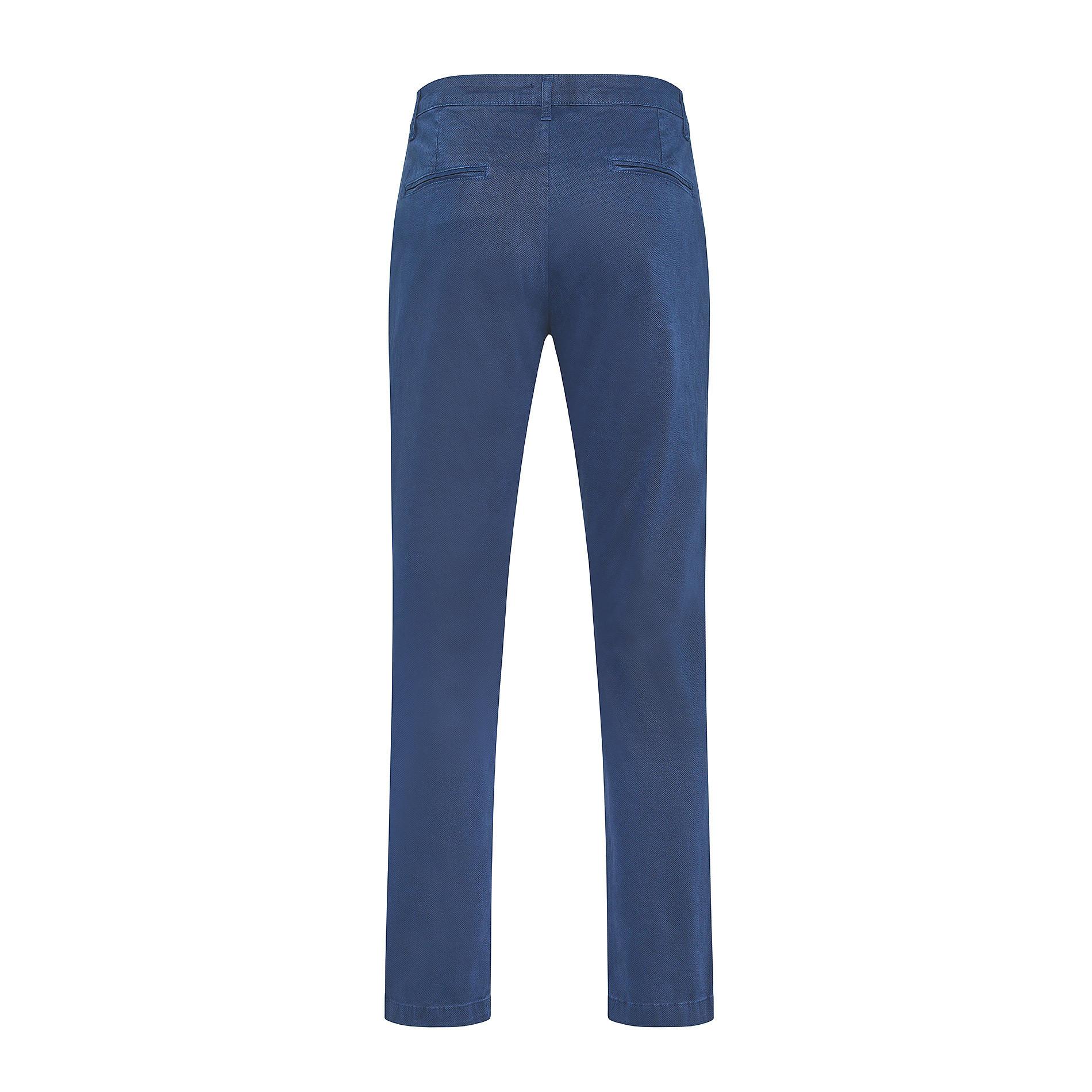 Pantalone chino cotone stretch JCT, Blu, large image number 1