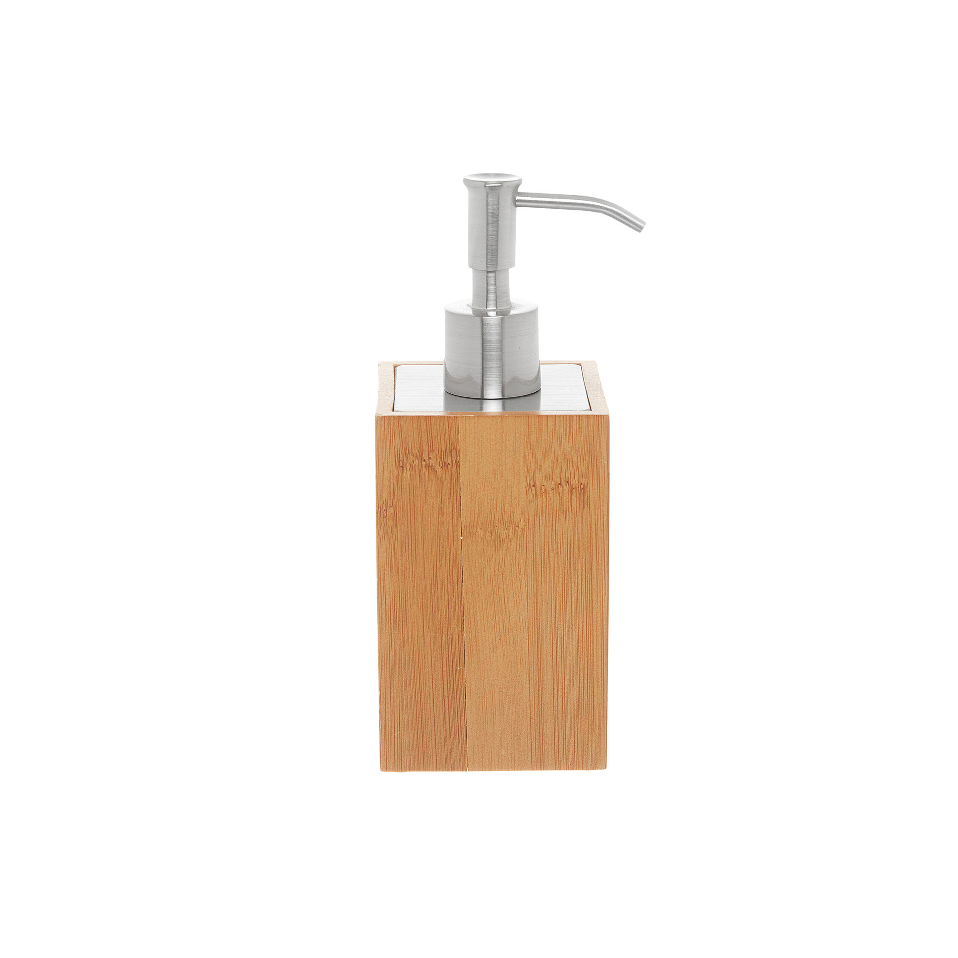 Dispenser in bamboo, Naturale, large image number 0