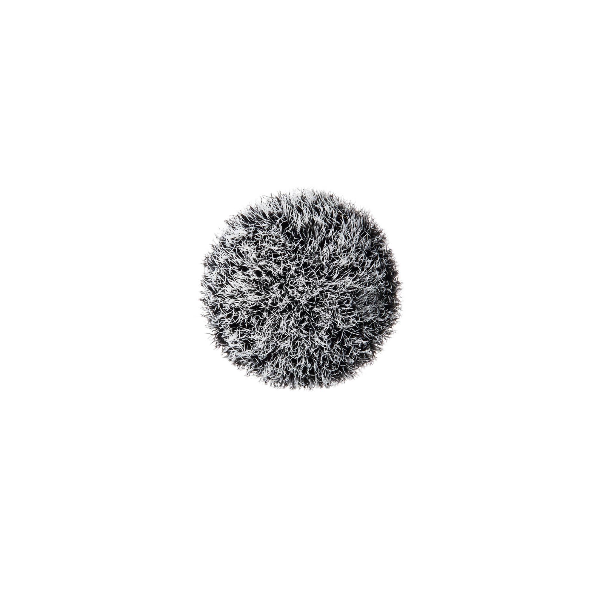 Brush - 130S Short Duo Fibre, Nero, large image number 2