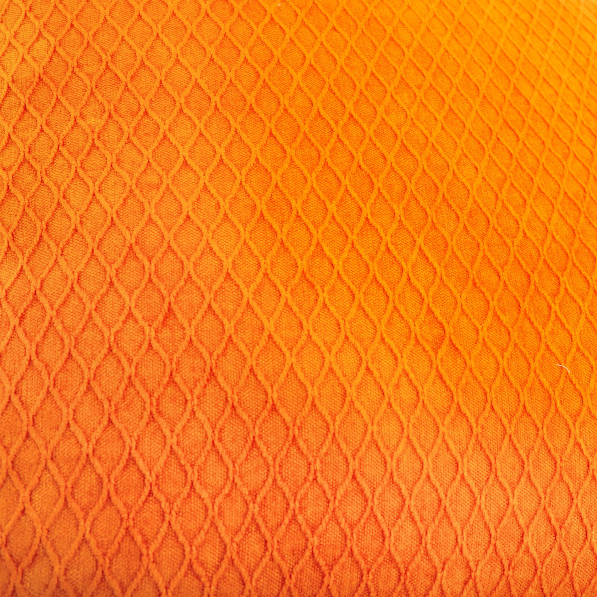 Cuscino velluto tinta unita 45x45cm, Arancione, large image number 2
