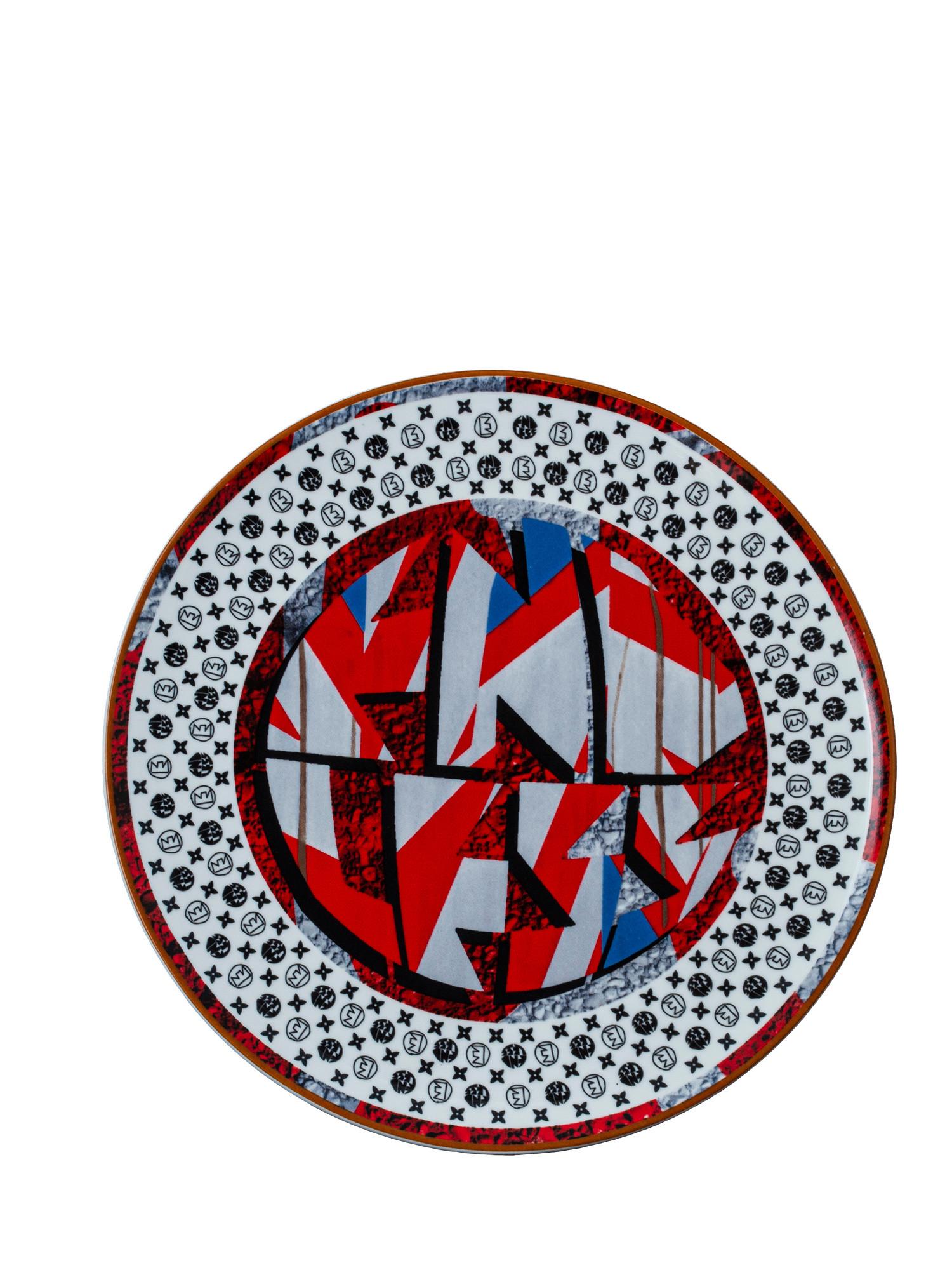Piattino con Logo Endless, Multicolor, large image number 0