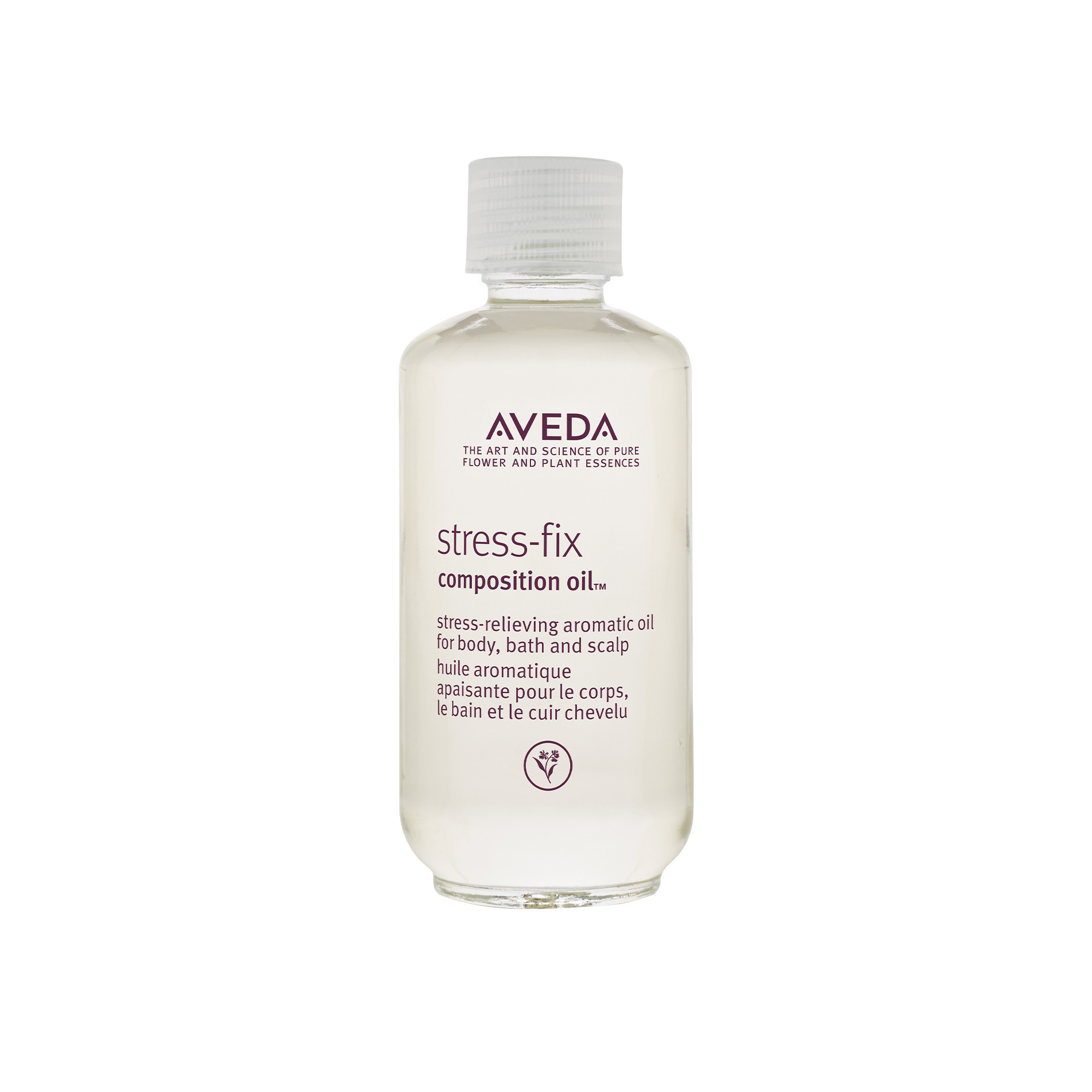 Aveda stress-fix olio multifunzione 50 ml, Viola, large image number 0