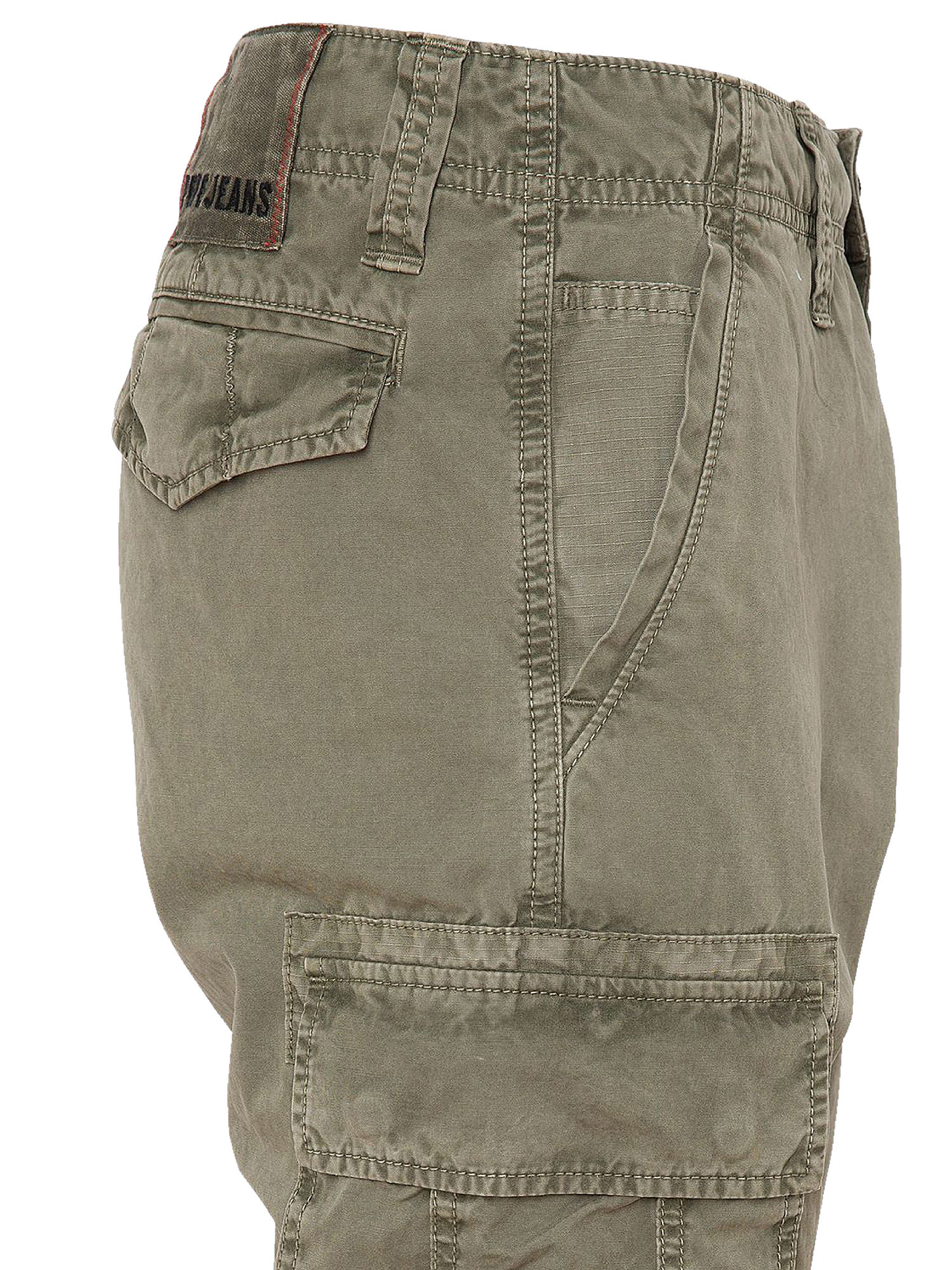 Pantalone 5 tasche, Verde, large image number 2
