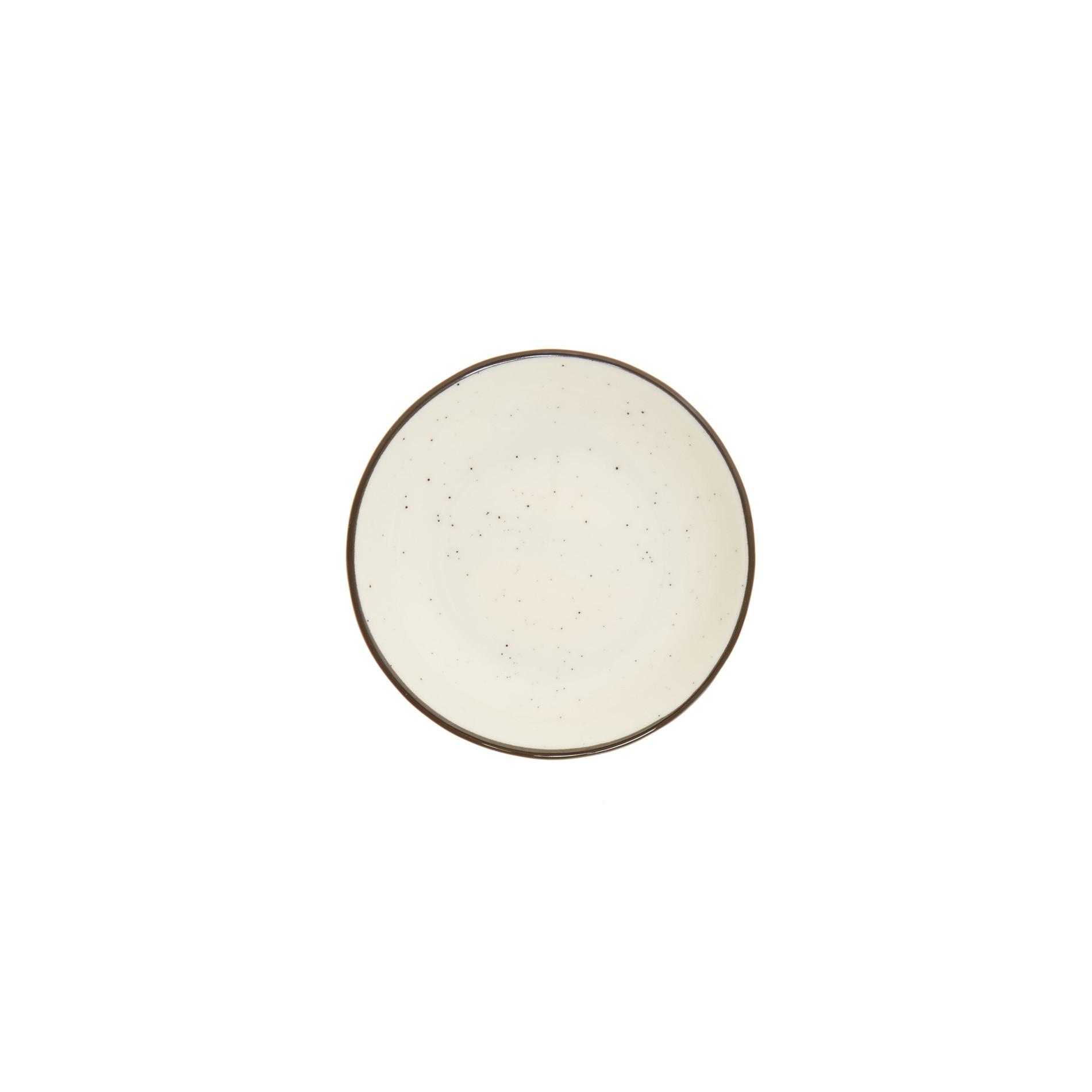 Piattino porcellana Ginevra, Bianco, large image number 0