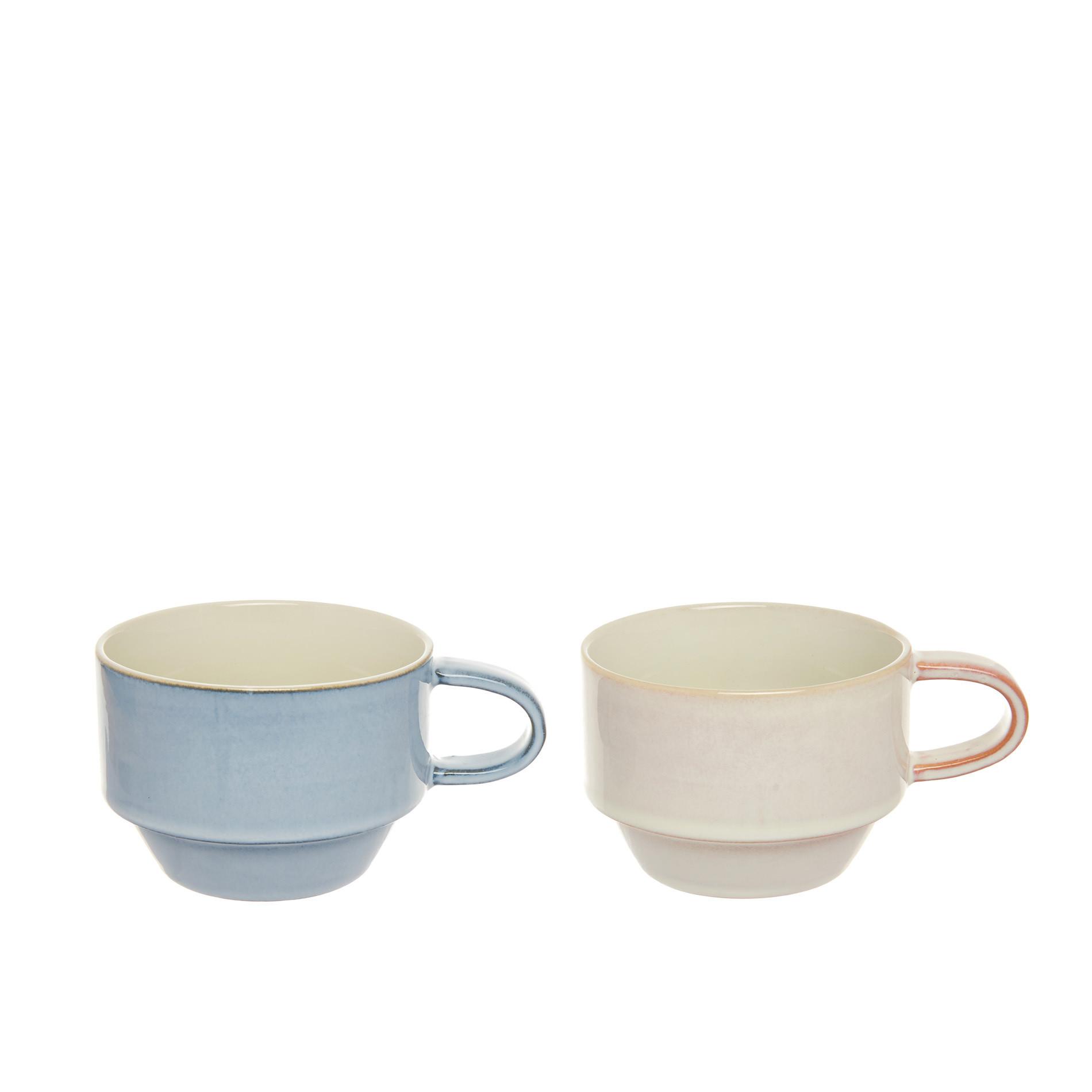Tazze da tè stoneware colorate, Multicolor, large image number 1
