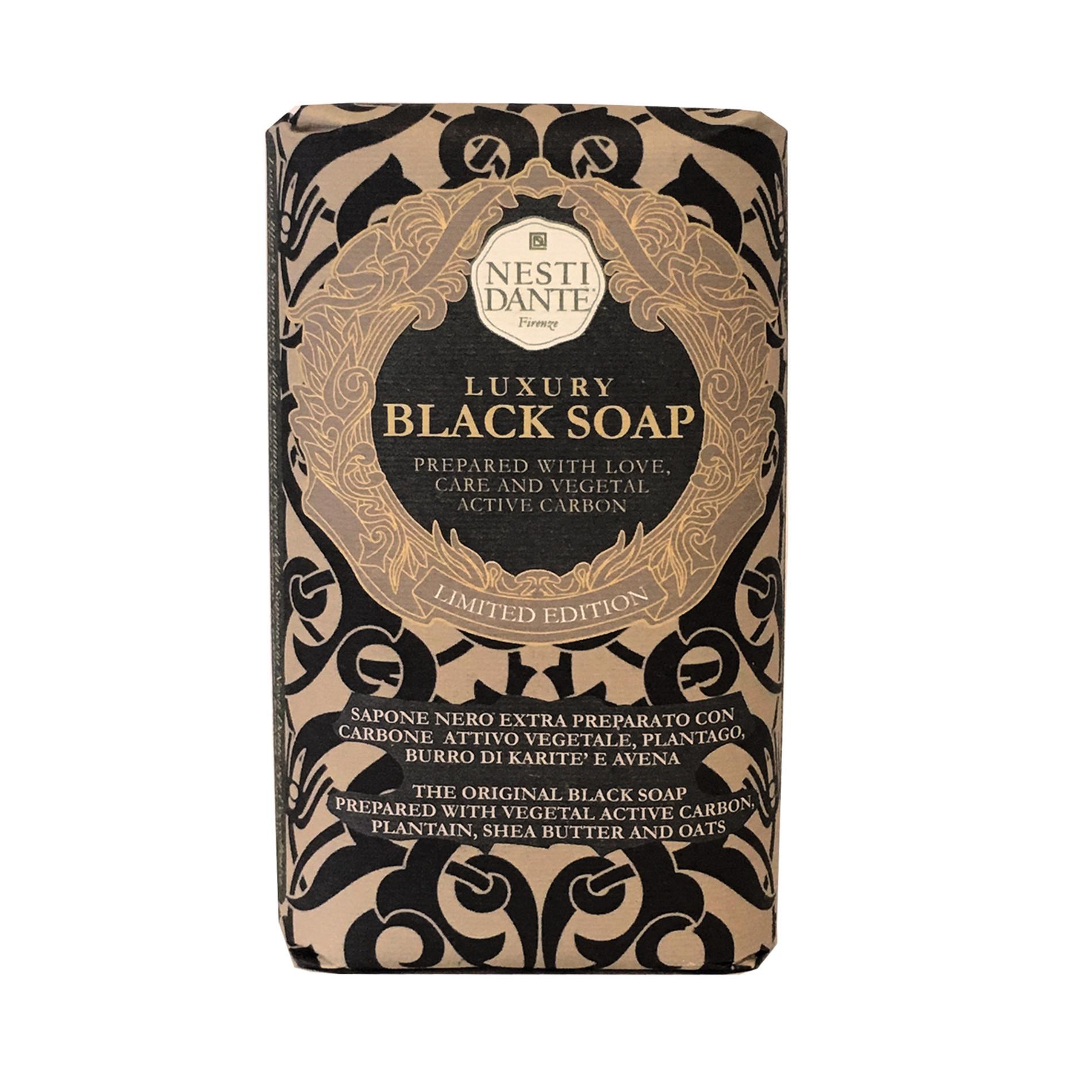 Luxury Black Soap, Nero, large image number 0