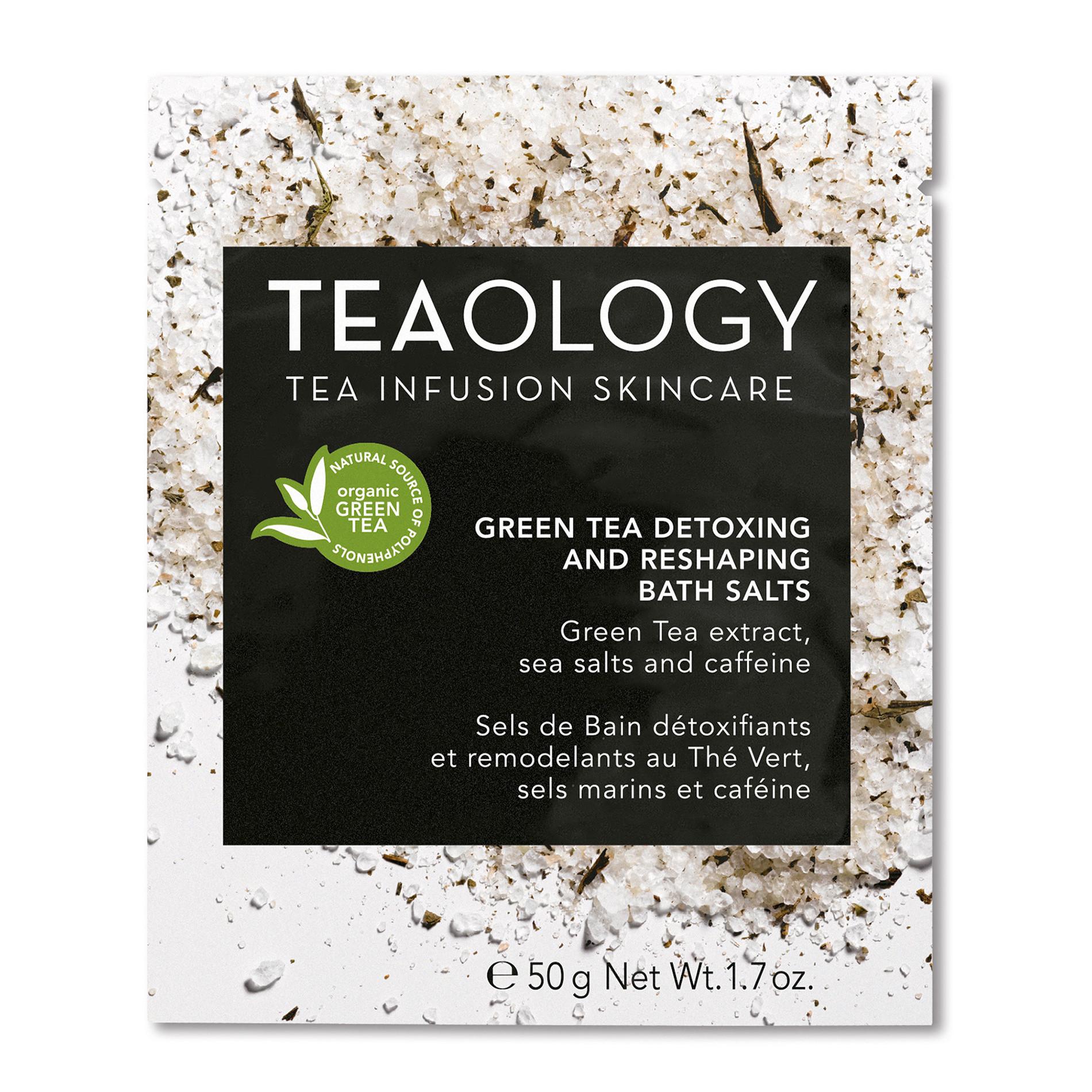 Green Tea Sali da Bagno detossinanti e rimodellanti 50 gr, Nero, large image number 0