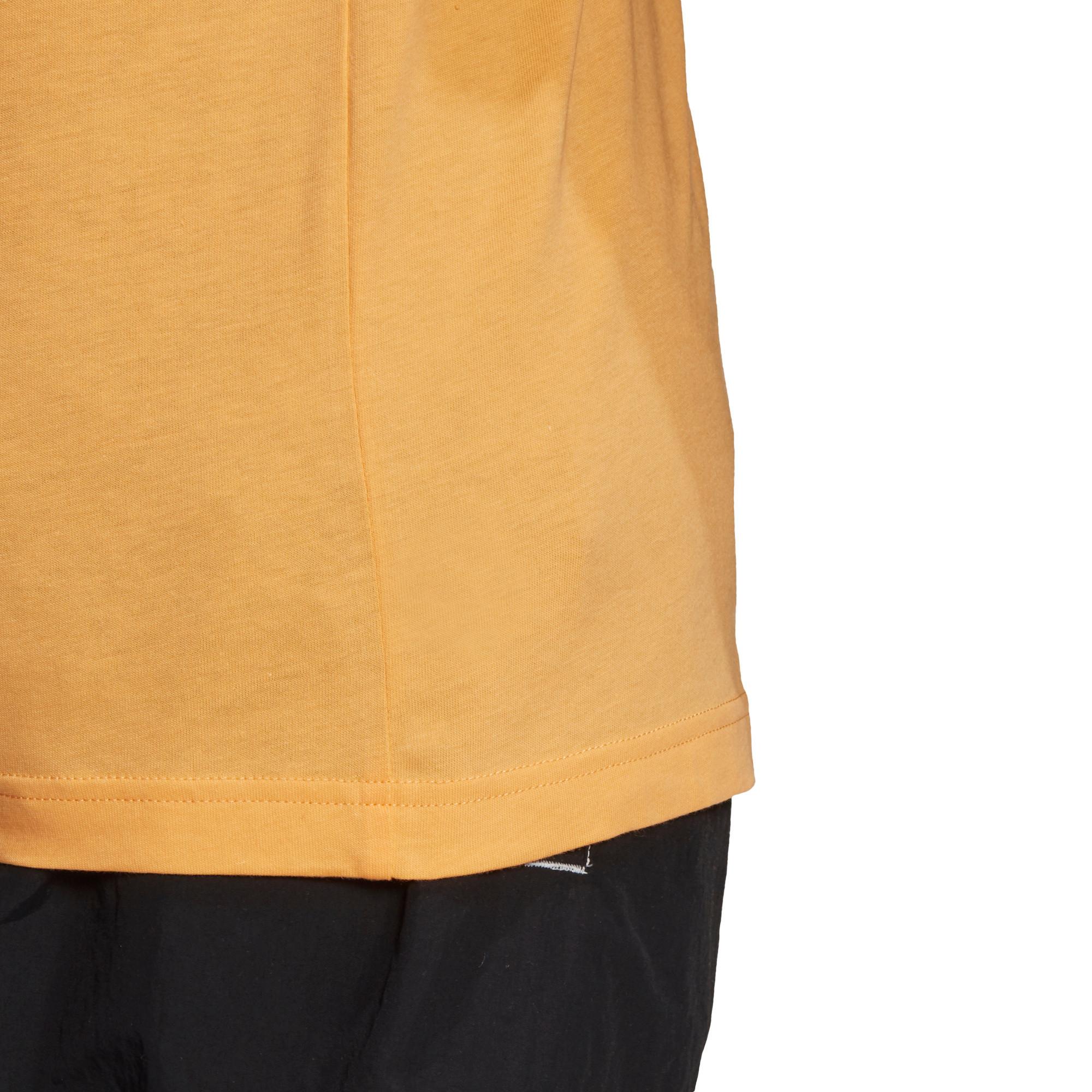T-shirt loungewear adicolor trefoil essentials, Arancione, large image number 6