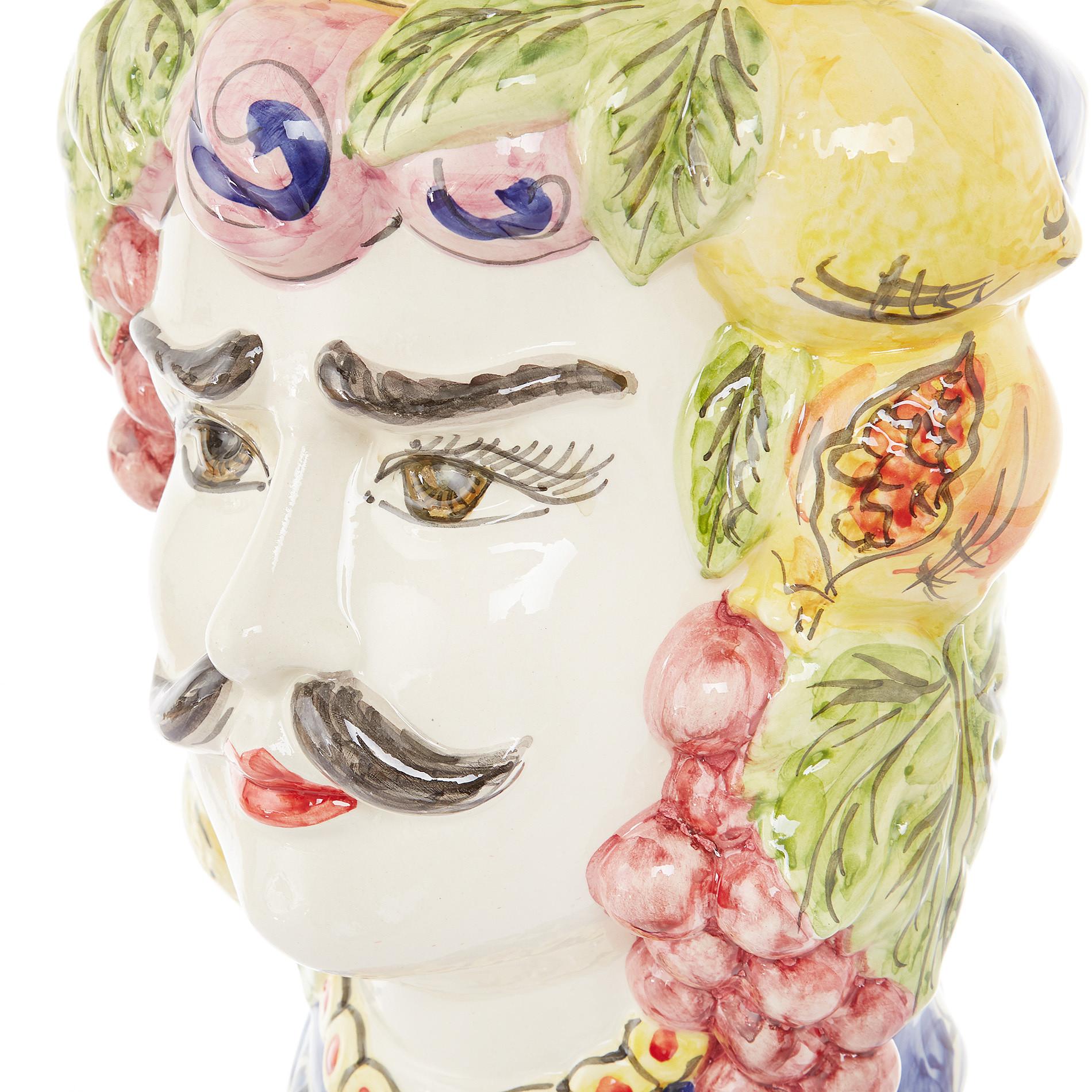 Testa di moro tradizionale by Ceramiche Siciliane Ruggeri, Multicolor, large image number 1