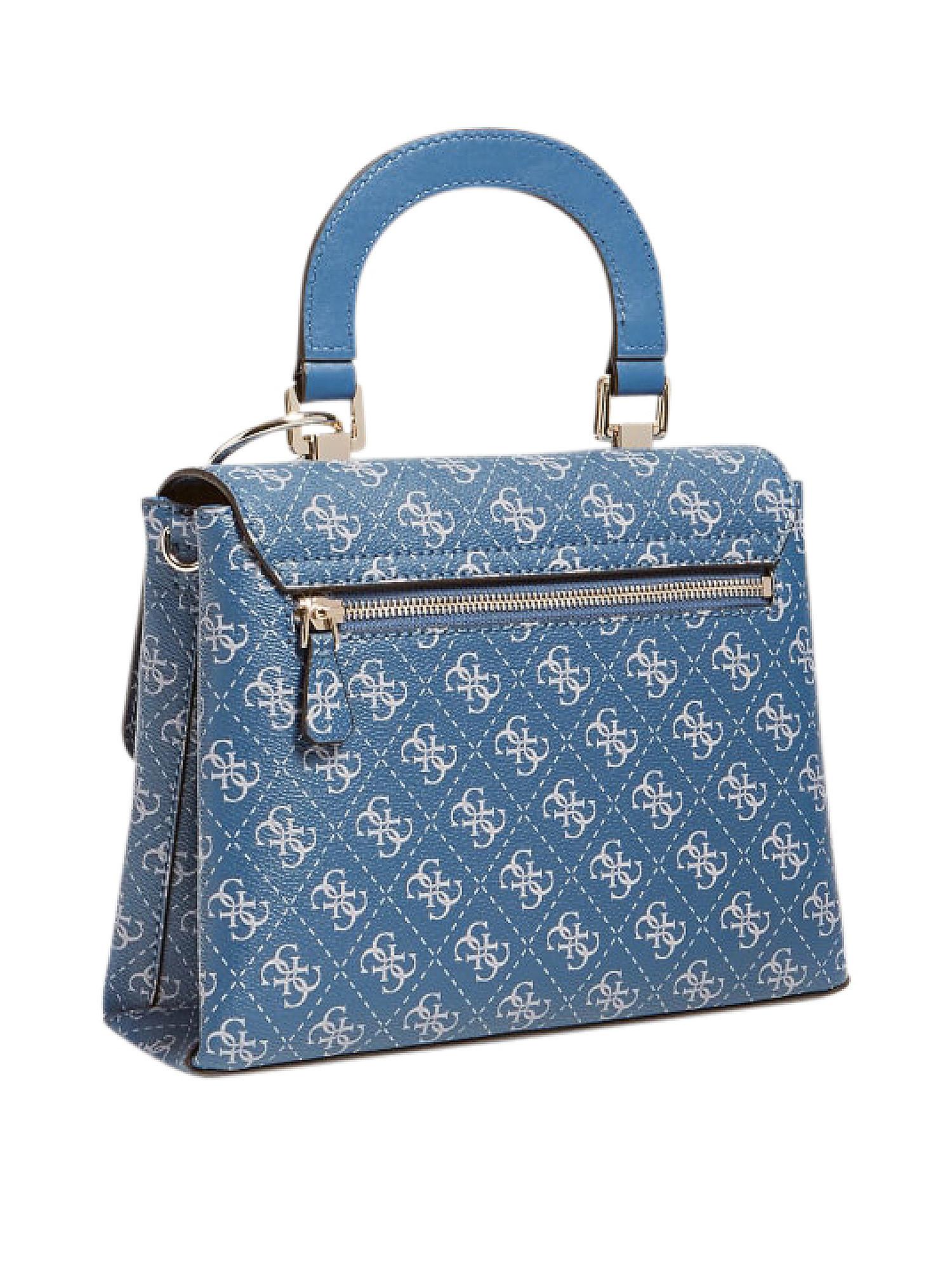 Tyren Top Handle Flap, Blu, large image number 3