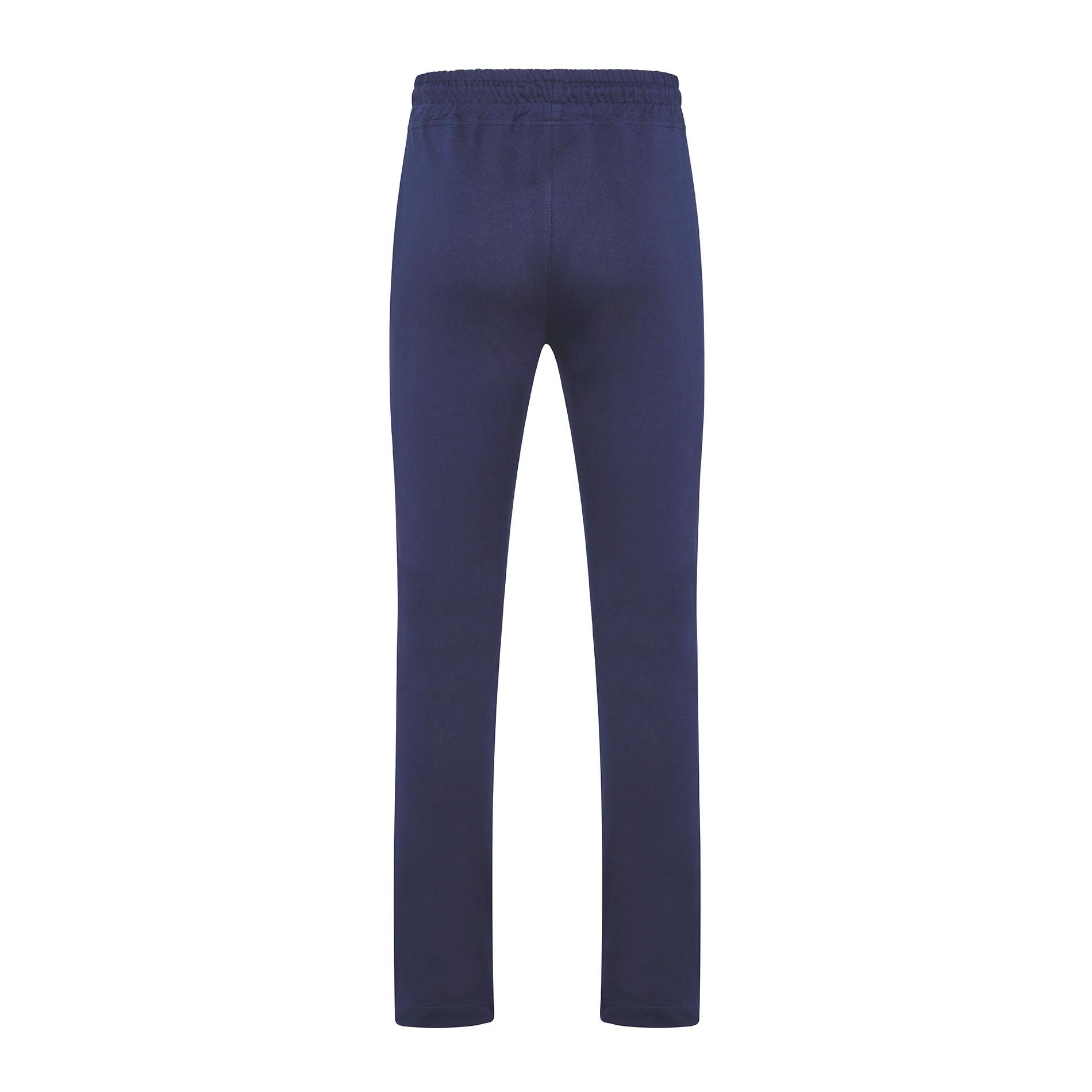 Pantalone felpa di cotone JCT, Blu scuro, large image number 1