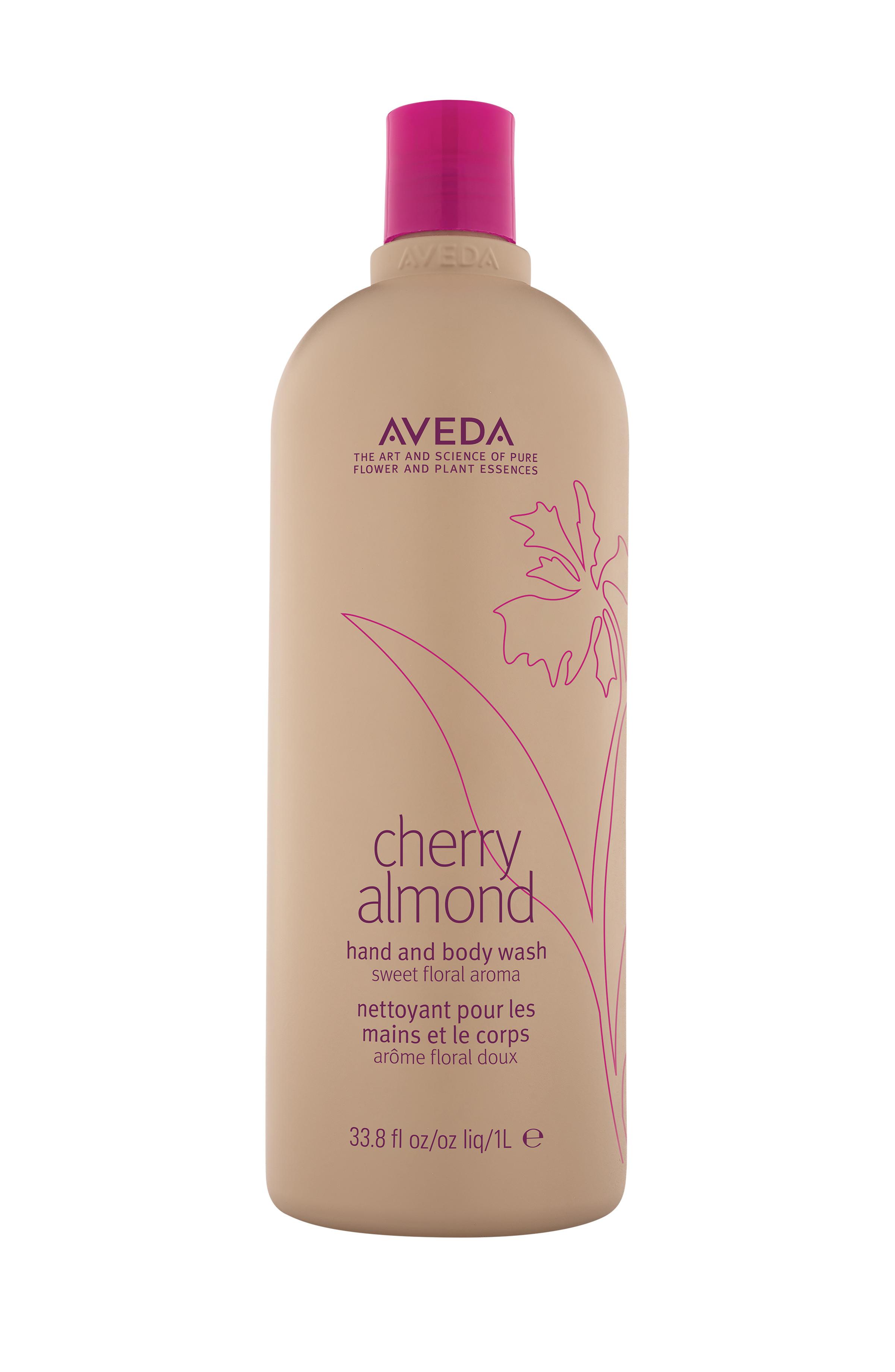 Aveda cherry almond docciaschiuma corpo e mani 1  lt, Beige, large image number 0