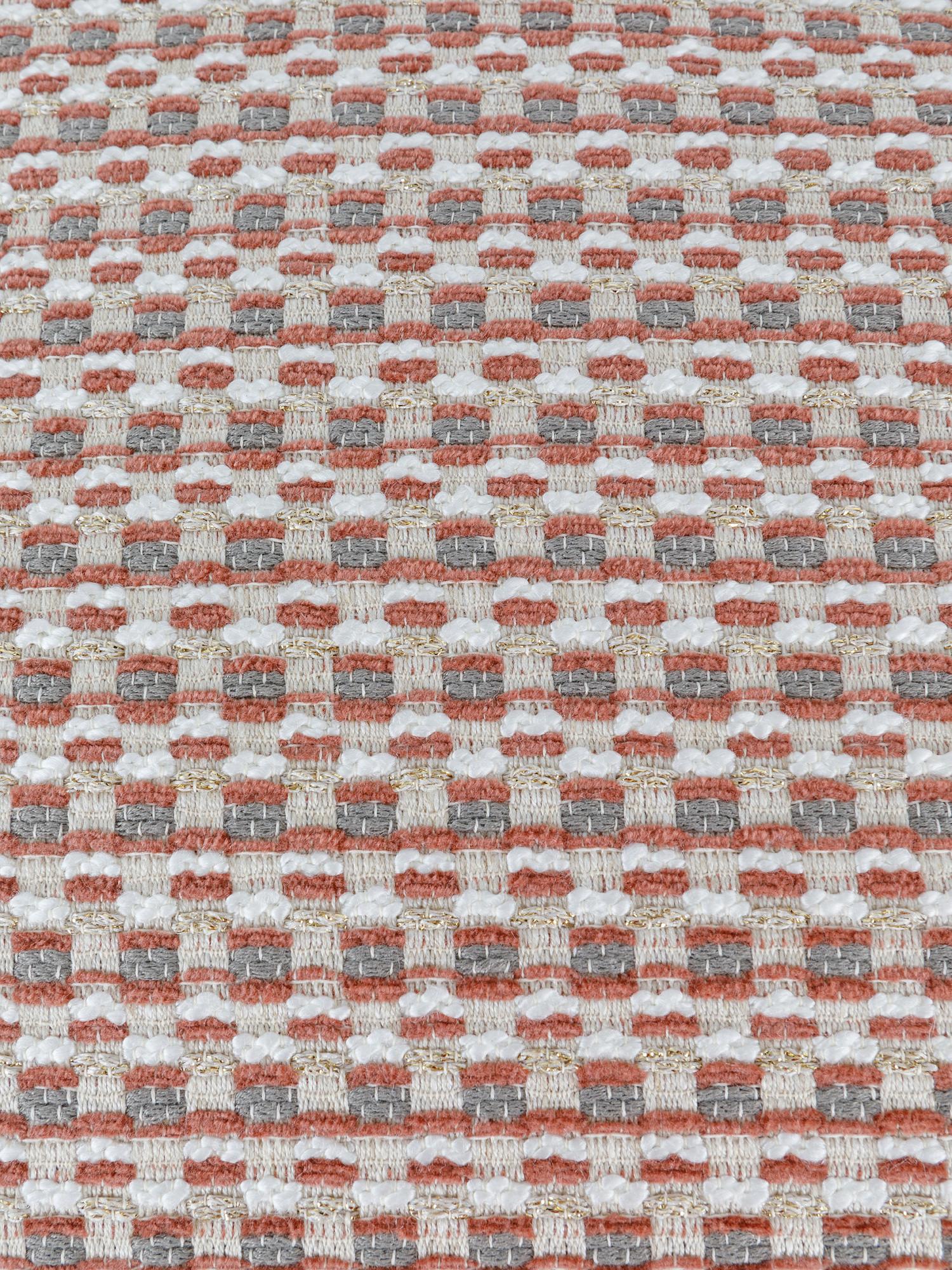 Cuscino tessuto jacquard 43x43cm, Multicolor, large image number 2