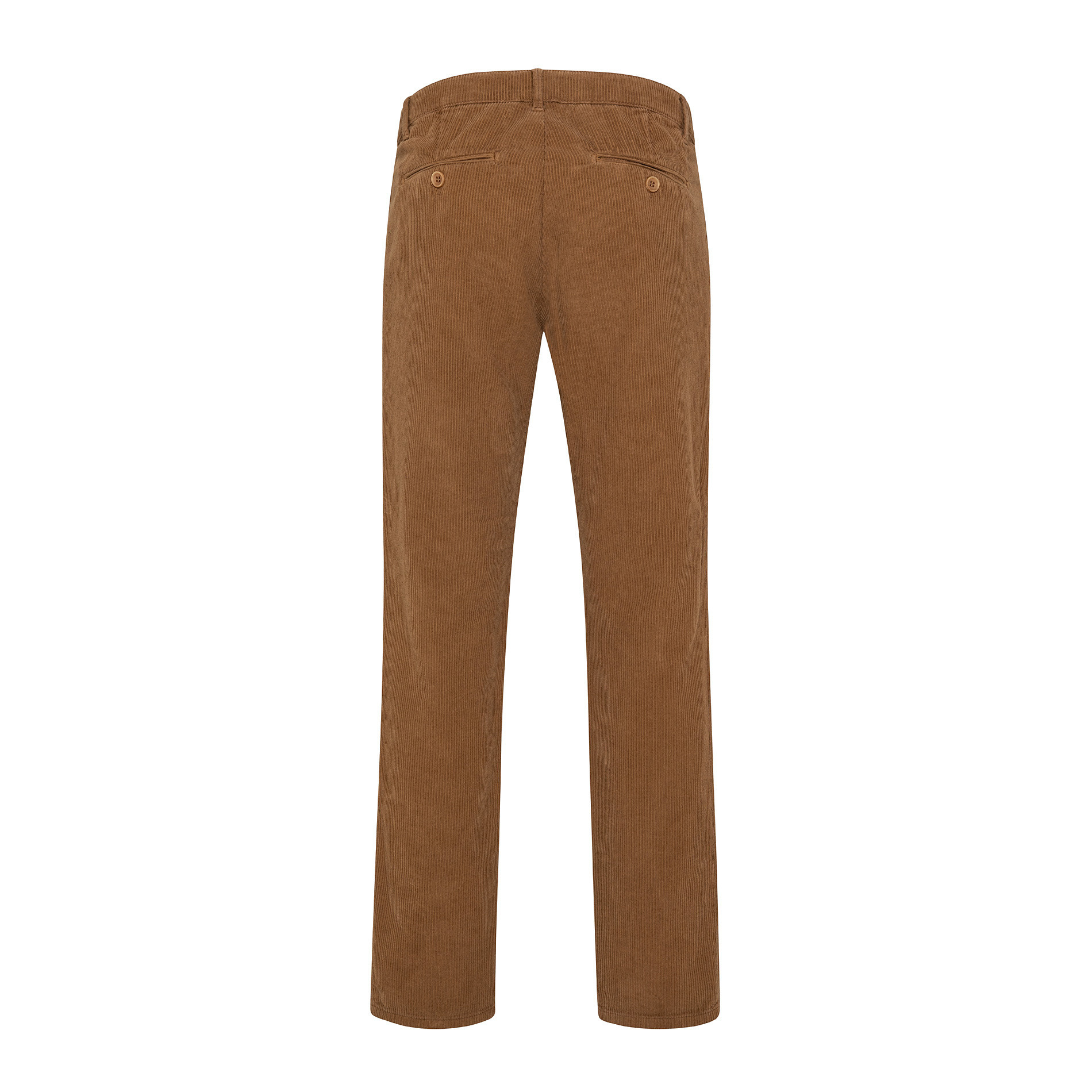 Pantaloni chino velluto stretch, Beige scuro, large image number 1