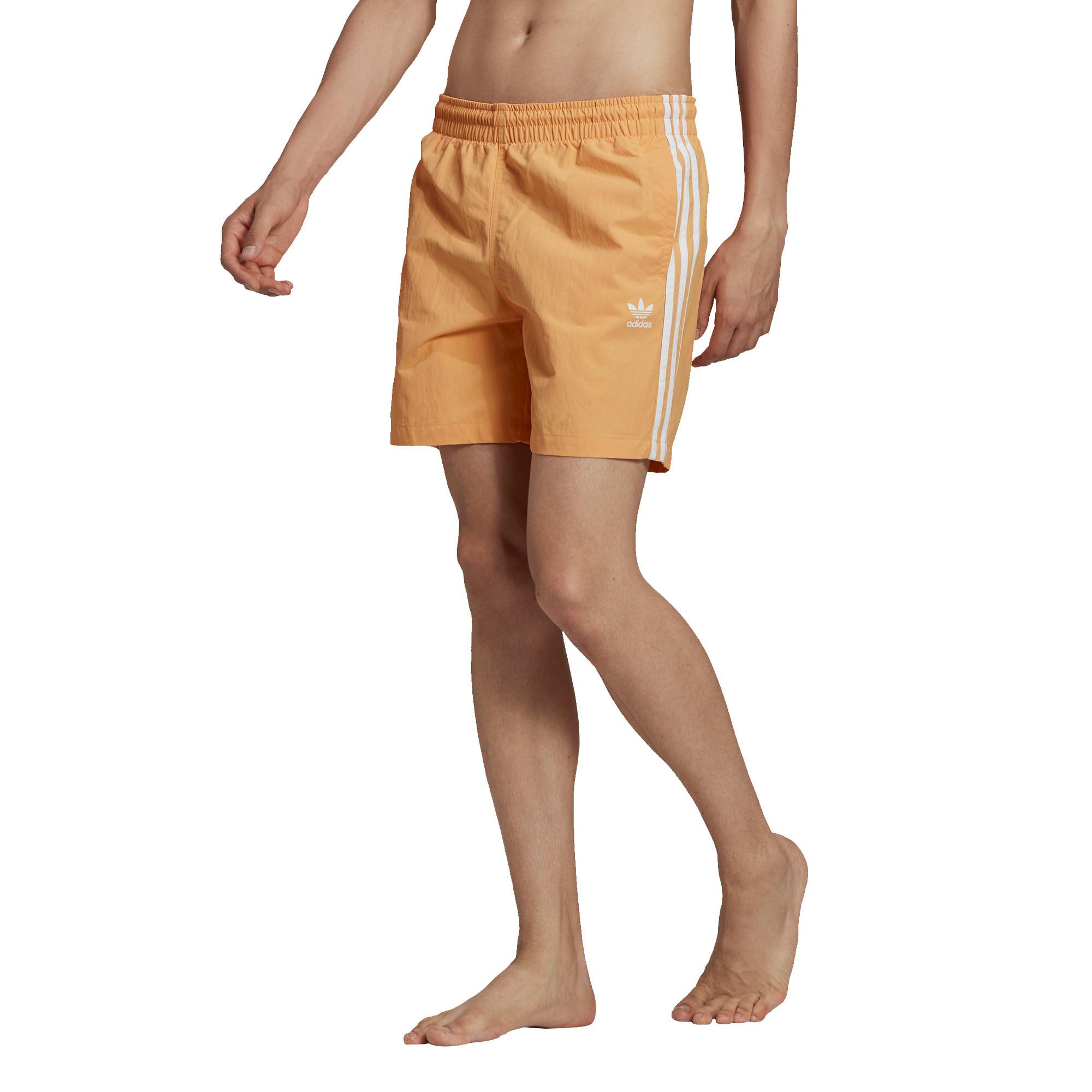 Short da nuoto adicolor classics 3-stripes, Arancione, large image number 2