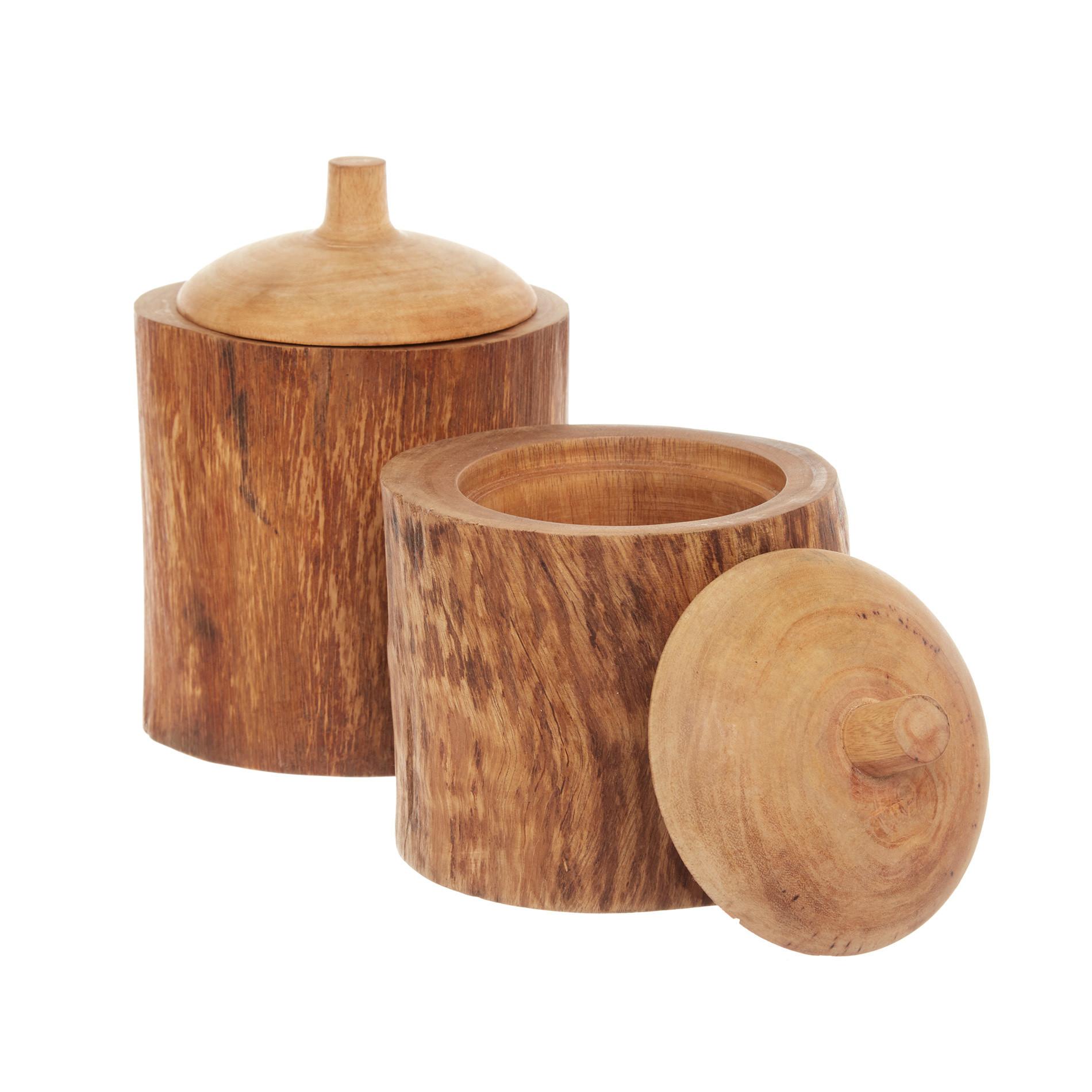 Box legno di mango decorato a mano, Marrone, large image number 2