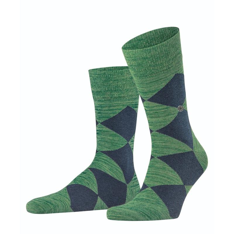 Calzini uomo Multicolour Clyde, Verde smeraldo, large image number 0
