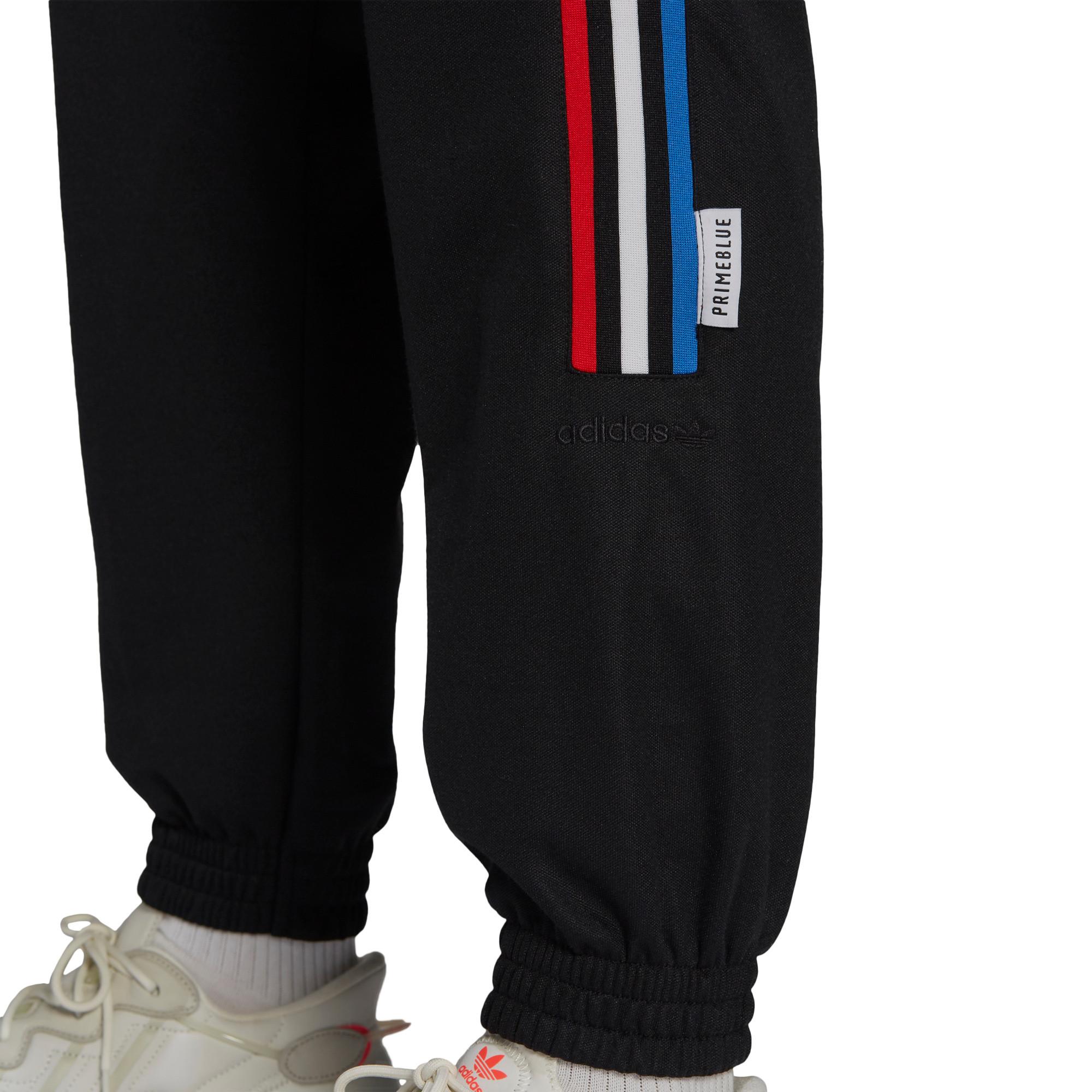 Pantaloni tuta adicolor Tricolor Primeblue, Nero, large image number 3