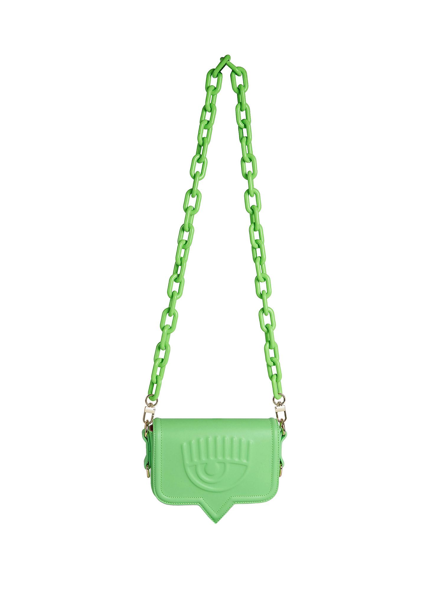 Small Eyelike Bag, Verde, large image number 0