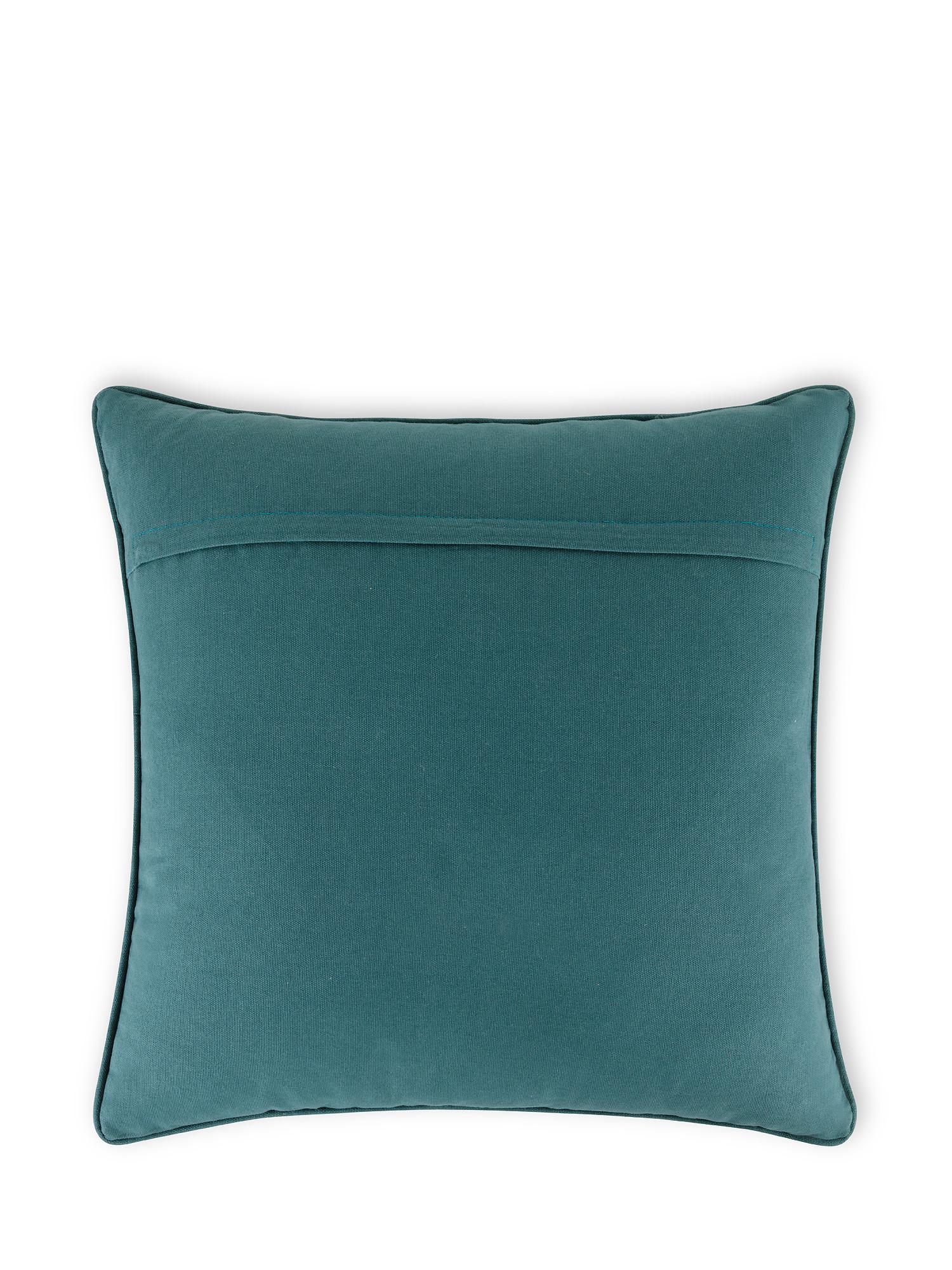 Cuscino cotone effetto tie dye 45x45cm, Multicolor, large image number 1