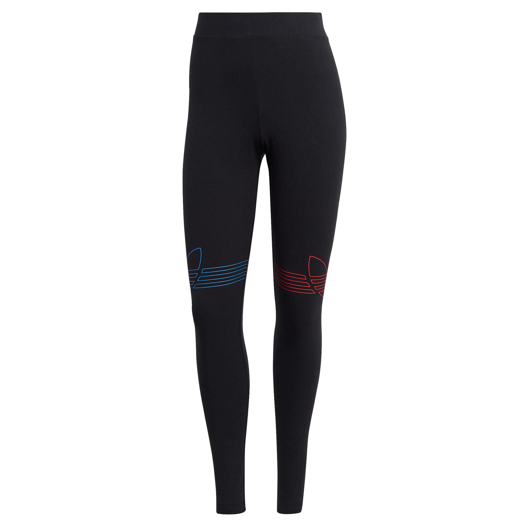 Leggings Loungewear adicolor Tricolor, Nero, large image number 0