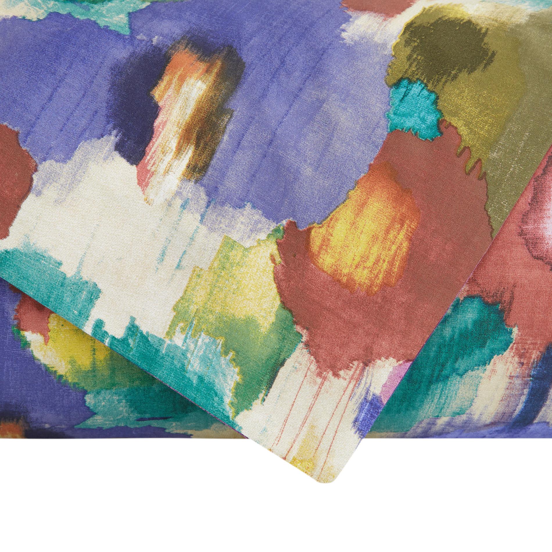 Copripiumino cotone biologico fantasia amazzonia, Multicolor, large image number 1