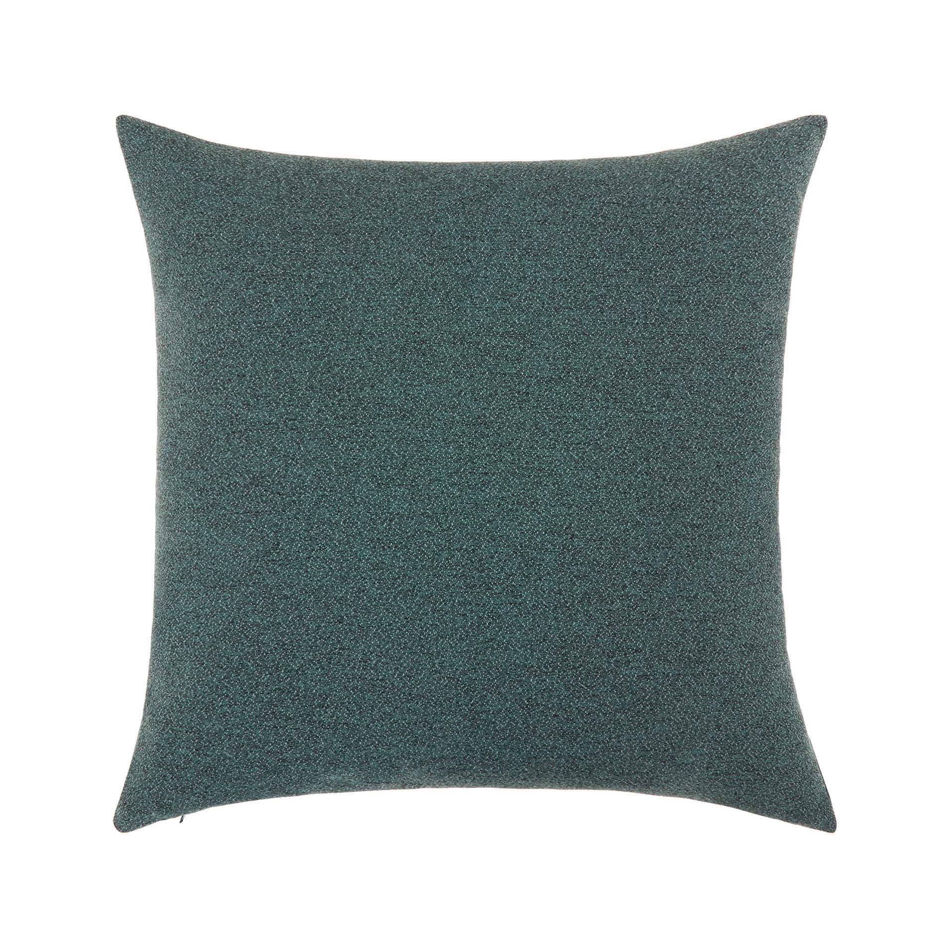 Cuscino sfumature melange 50x50cm, Verde scuro, large image number 0