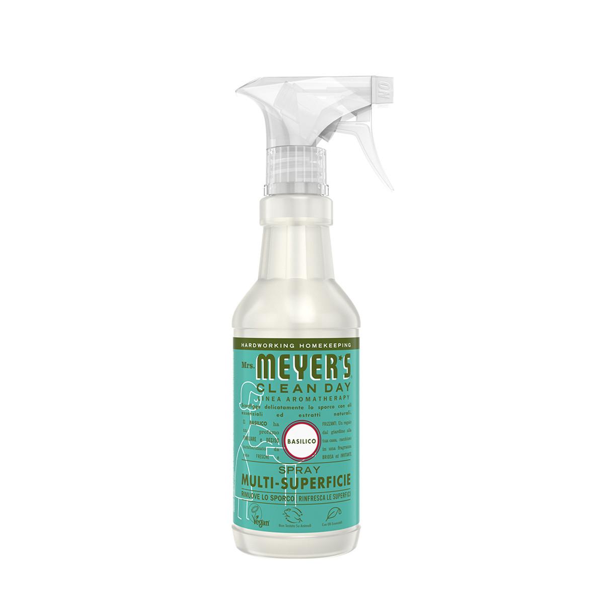 Spray detergente multi-superficie profumo di basilico 473ml, Verde smeraldo, large image number 0