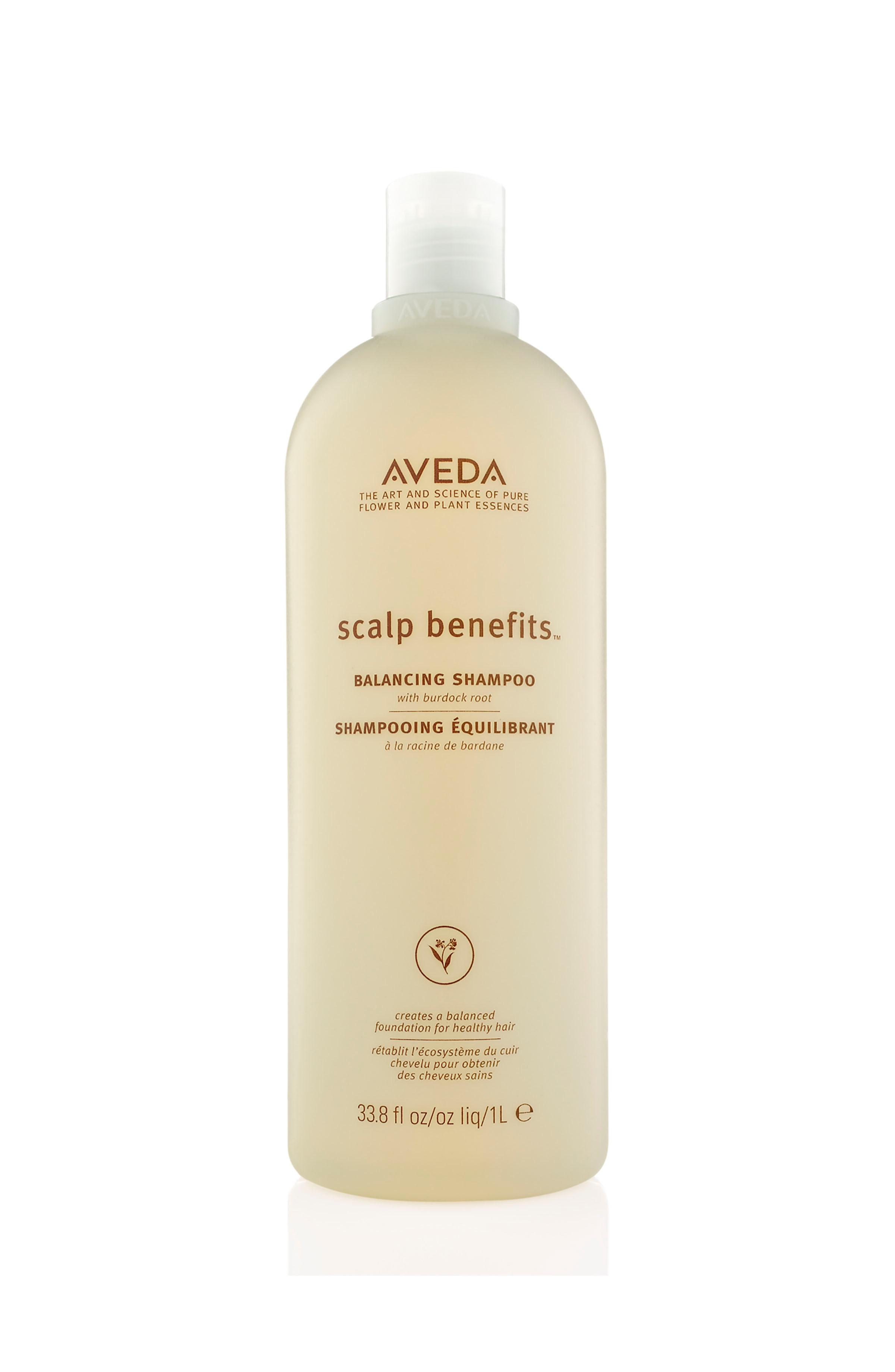 Aveda scalp benefits shampoo riequilibrante 1000 ml, Beige, large image number 0