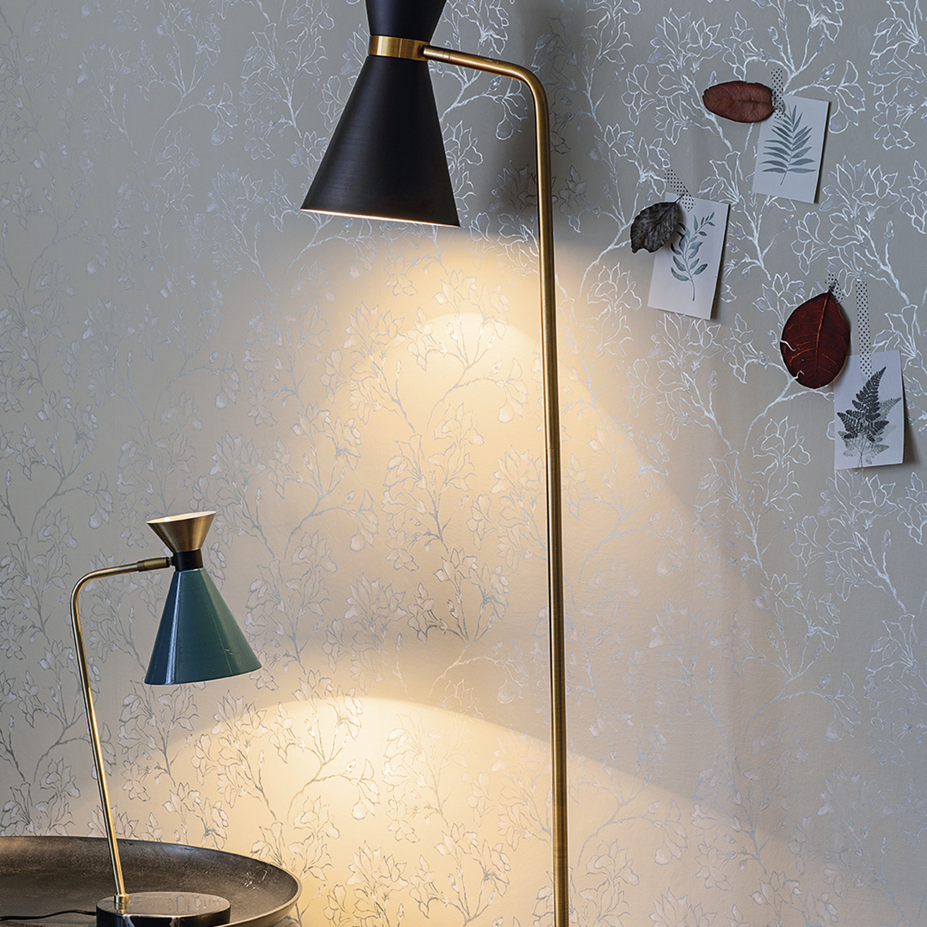 Lampada da tavolo Vintage, Petrolio, large image number 2