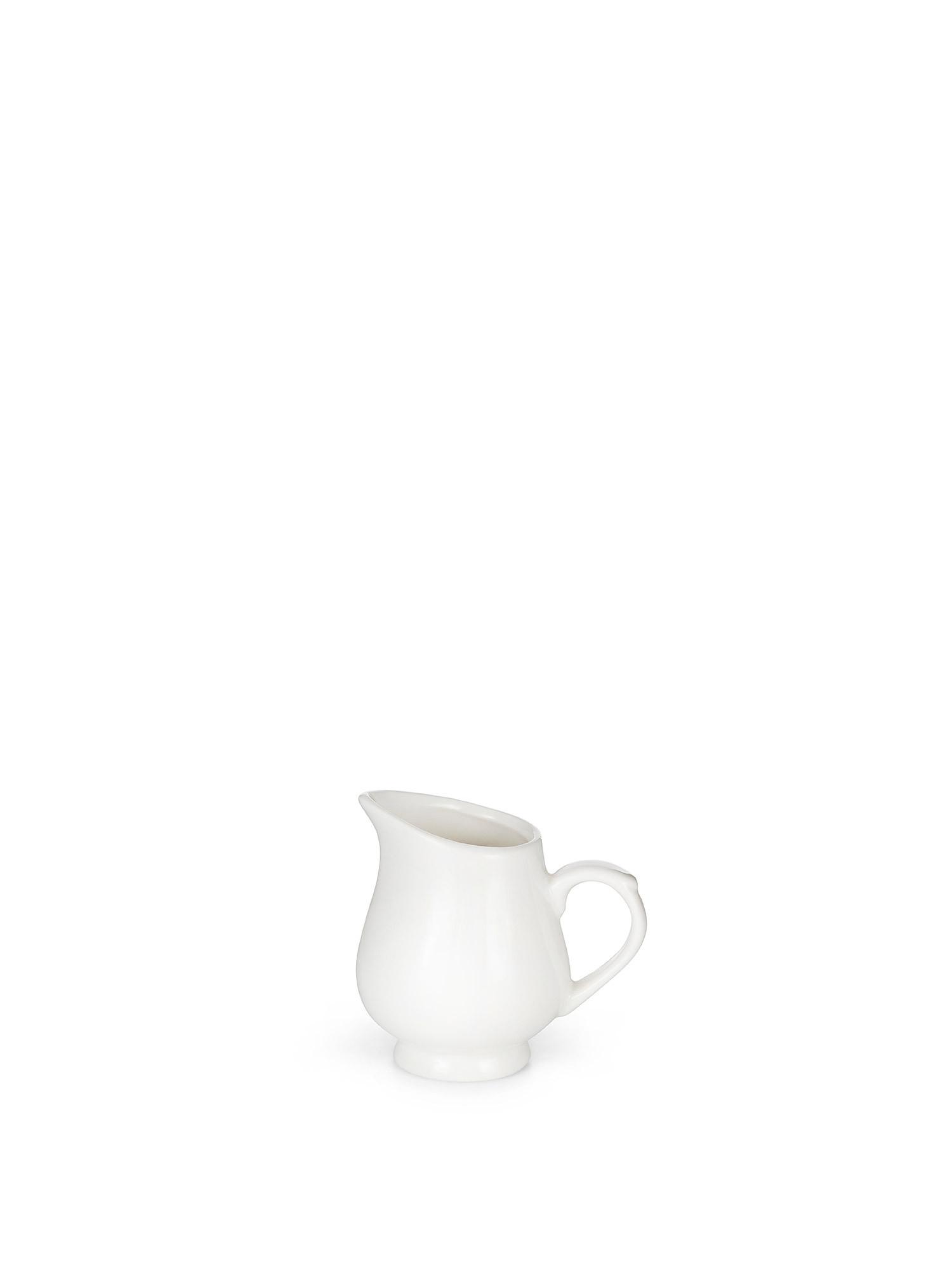 Lattiera porcellana bianca, Bianco, large image number 0